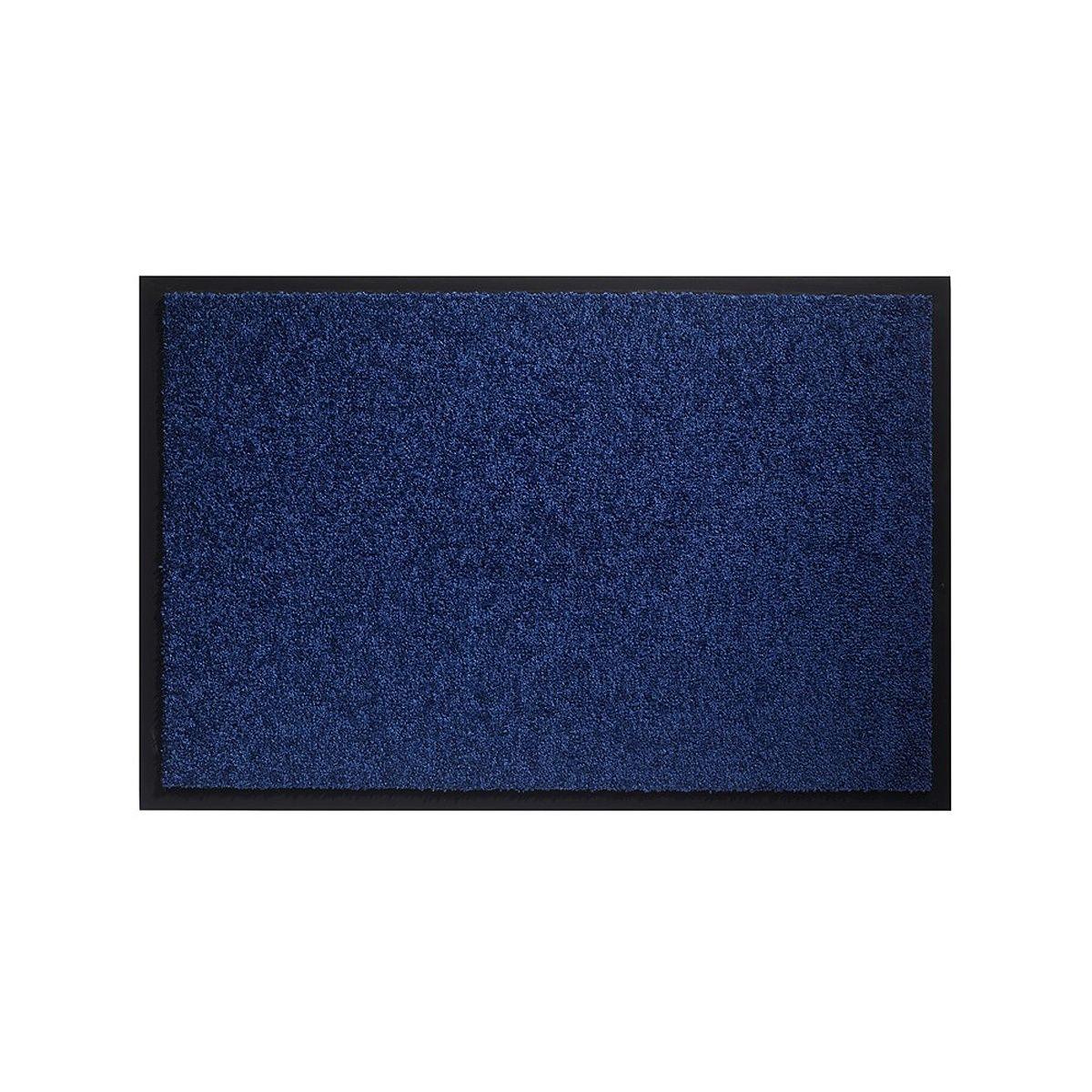 Грязезащитный коврик HAMAT 574 Twister кобальт 80x120 см