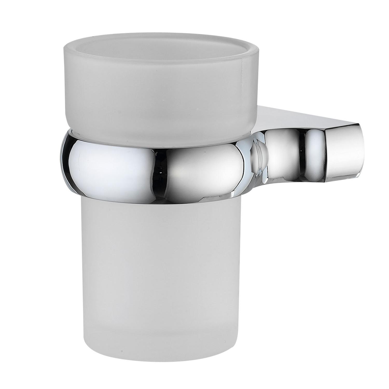 Подстаканник одинарный Wasserkraft хром подстаканник одинарный fixsen bruno хром fx 73606