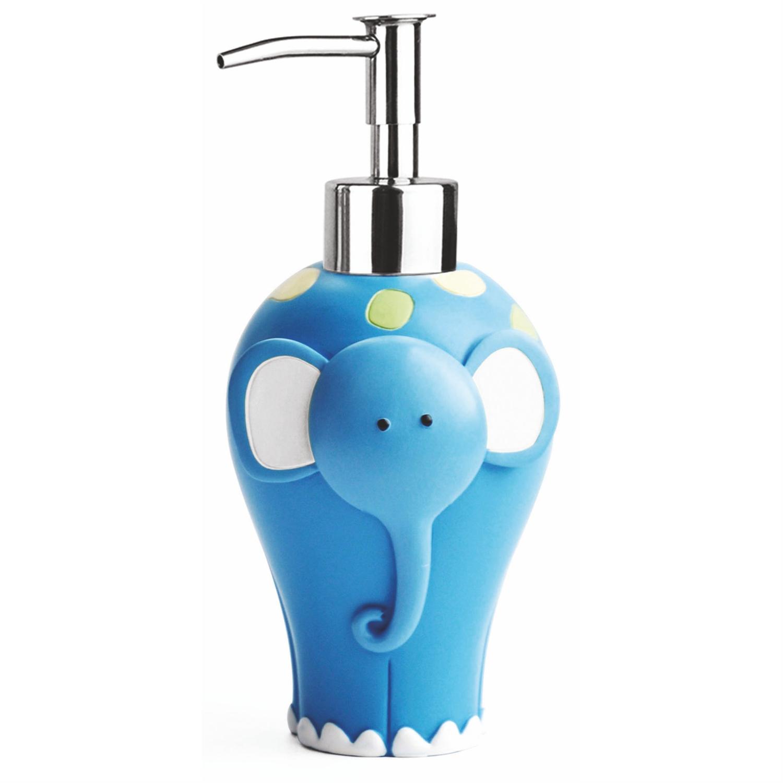 Дозатор для жидкого мыла Wasserkraft голубой дозатор для жидкого мыла proffi la maison de beaute ph9283 серо голубой