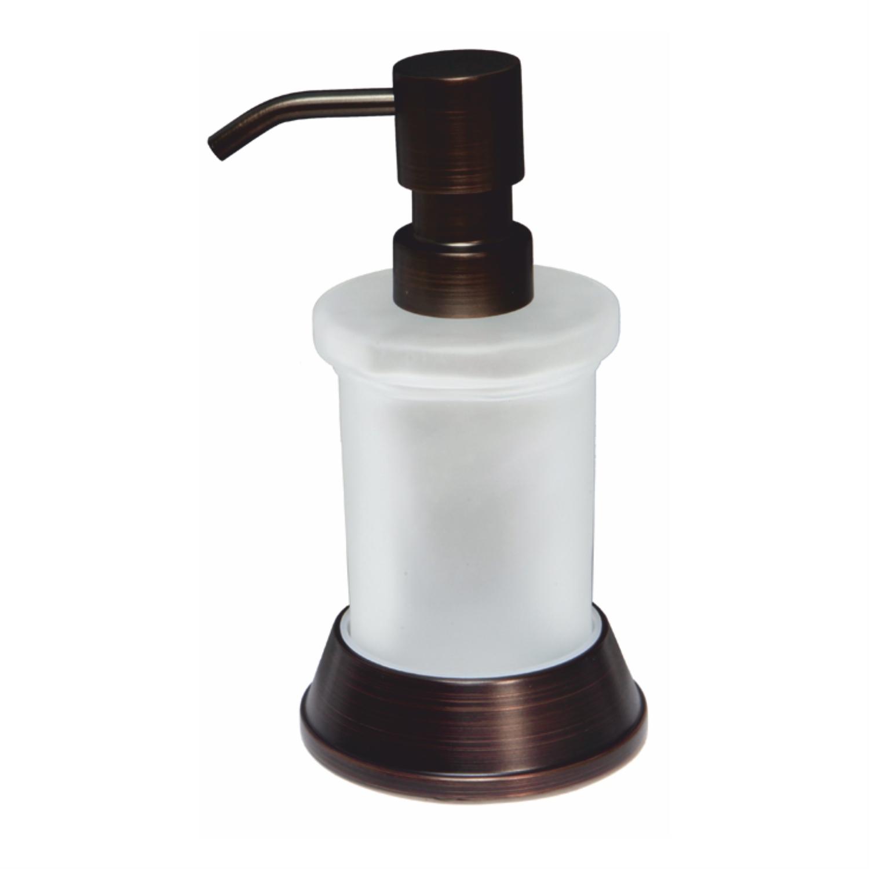 Дозатор для жидкого мыла Wasserkraft темная бронза дозатор для жидкого мыла wasserkraft isar k 7399 темная бронза