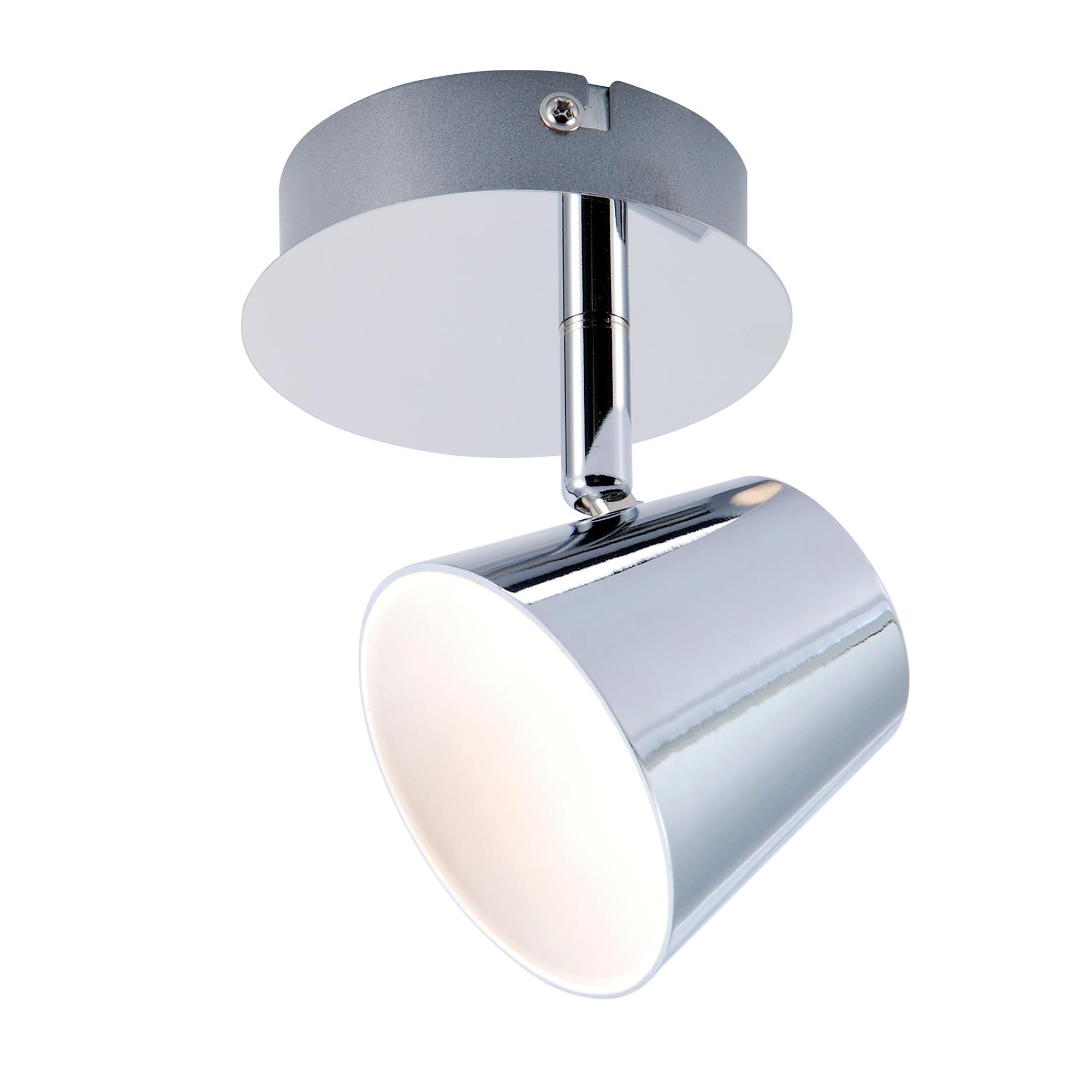 Спот J-light OKIN 1224/1A LED*1*6W хром/хром спот j light damon 1410 1a gu10 1 35w хром хром