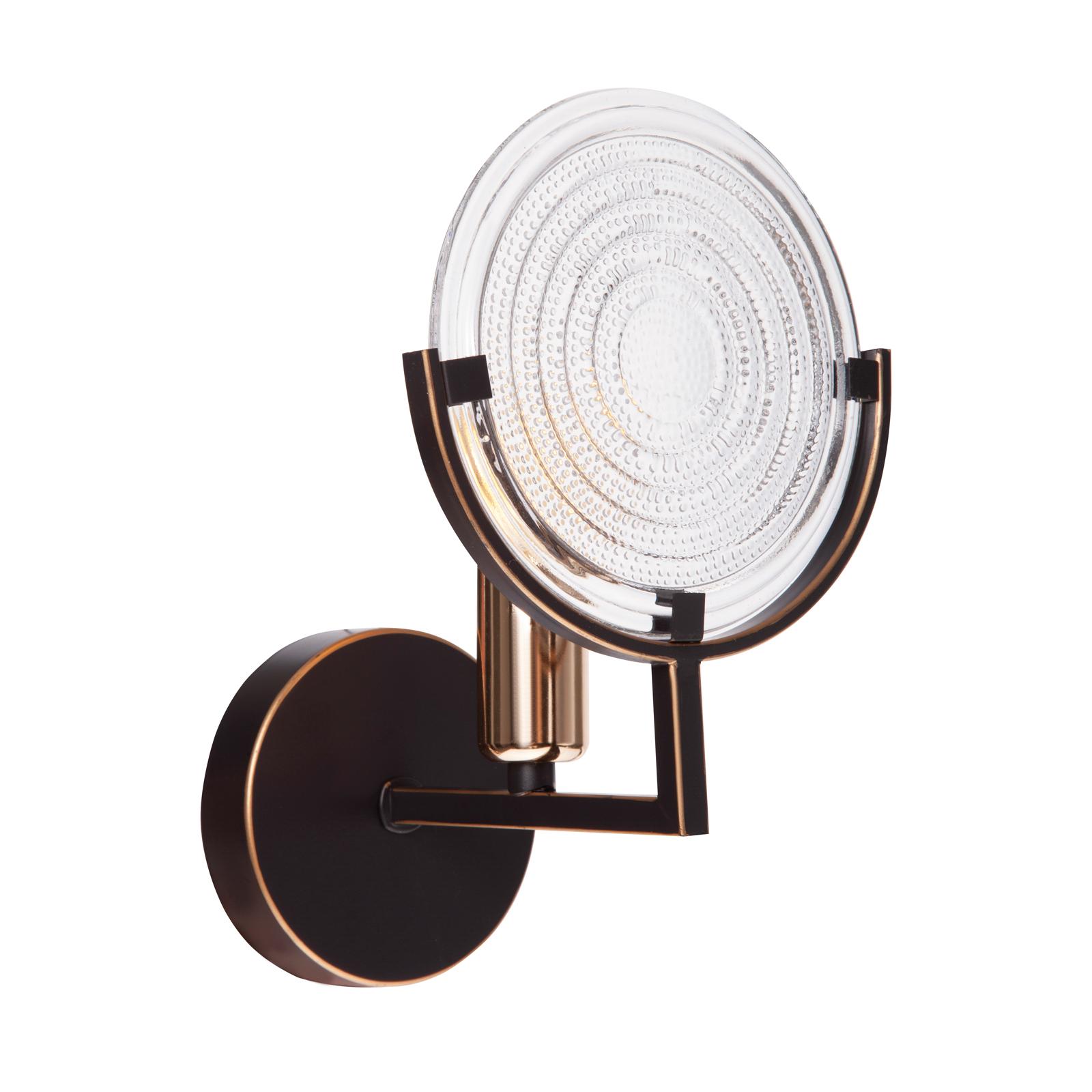Светильник настенный GENRY 1275/1W E14*1*60W кофе/золото/белый люстра потолочная j light genry 1275 5c e14 5 60w кофе золото белый