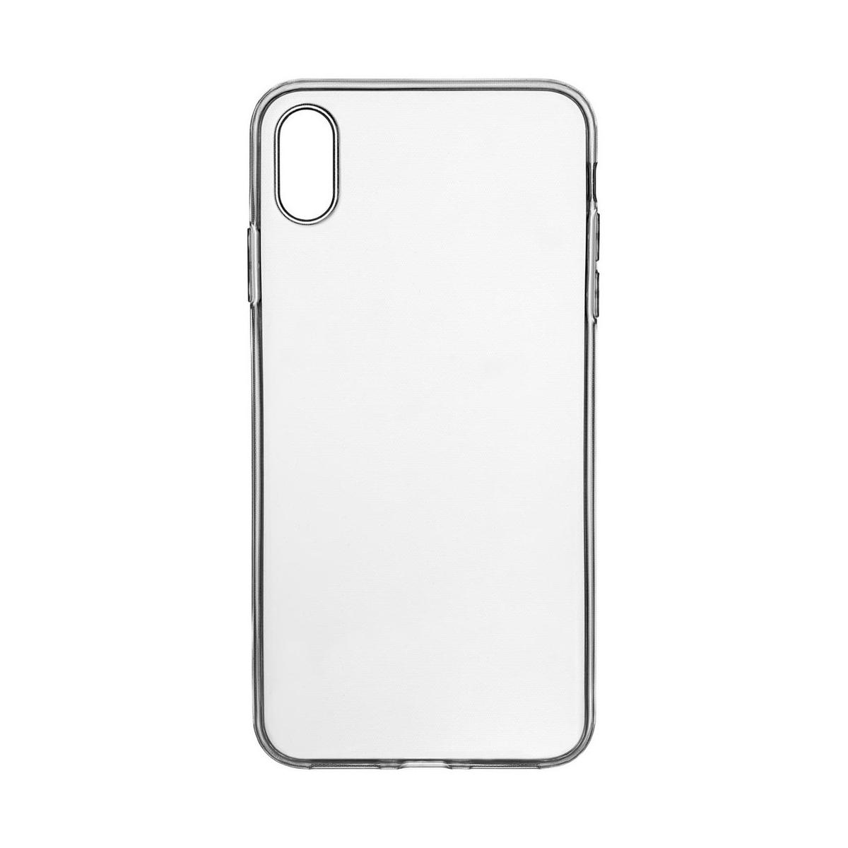 Чехол uBear Tone Case для Apple iPhone XS Max, прозрачный чехол ubear tone case для apple iphone xs max прозрачный