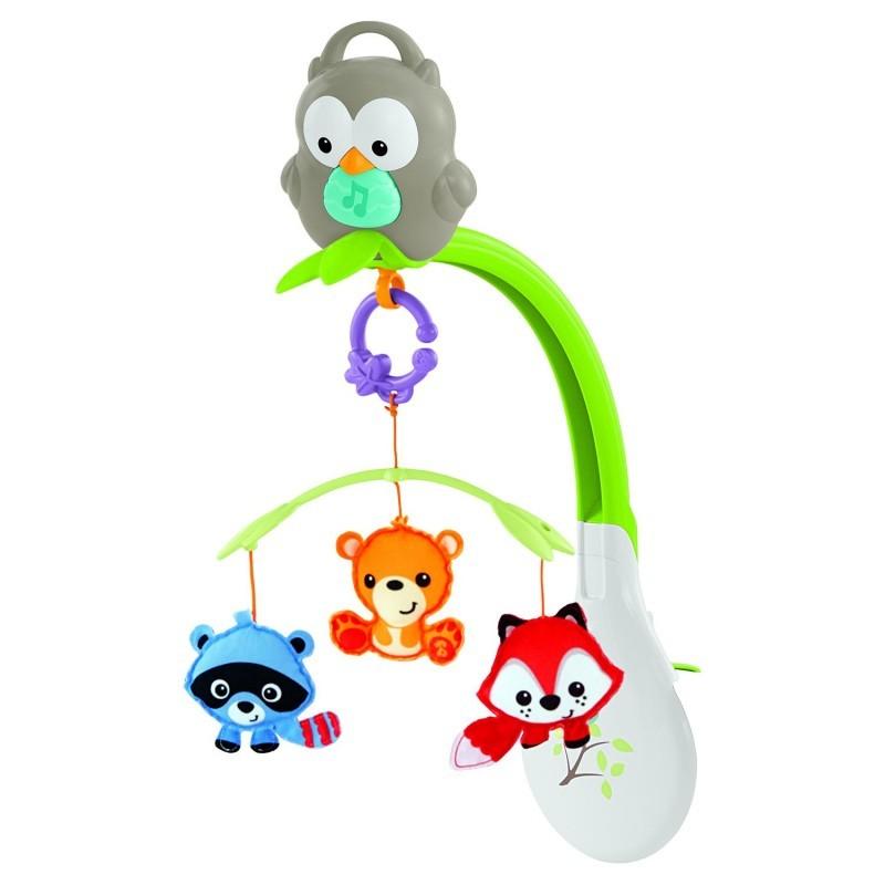 Мобиль музыкальный 3в1 Mattel Лесные друзья