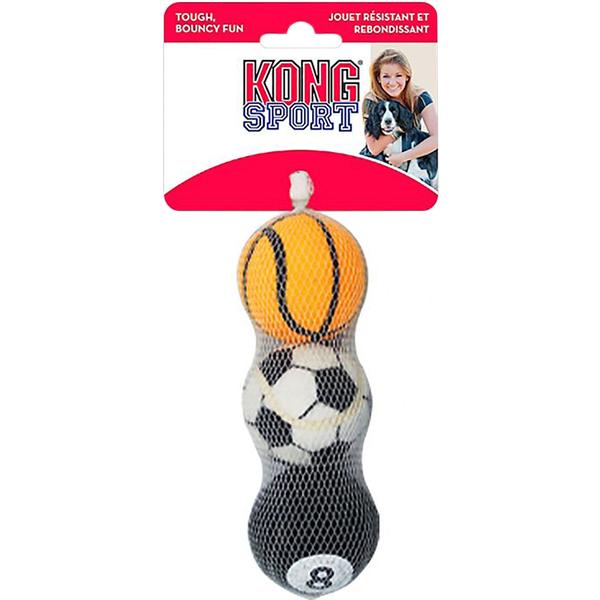 Игрушка для собак KONG Air Sport Теннисный мяч очень маленький 4 см 3 шт недорого