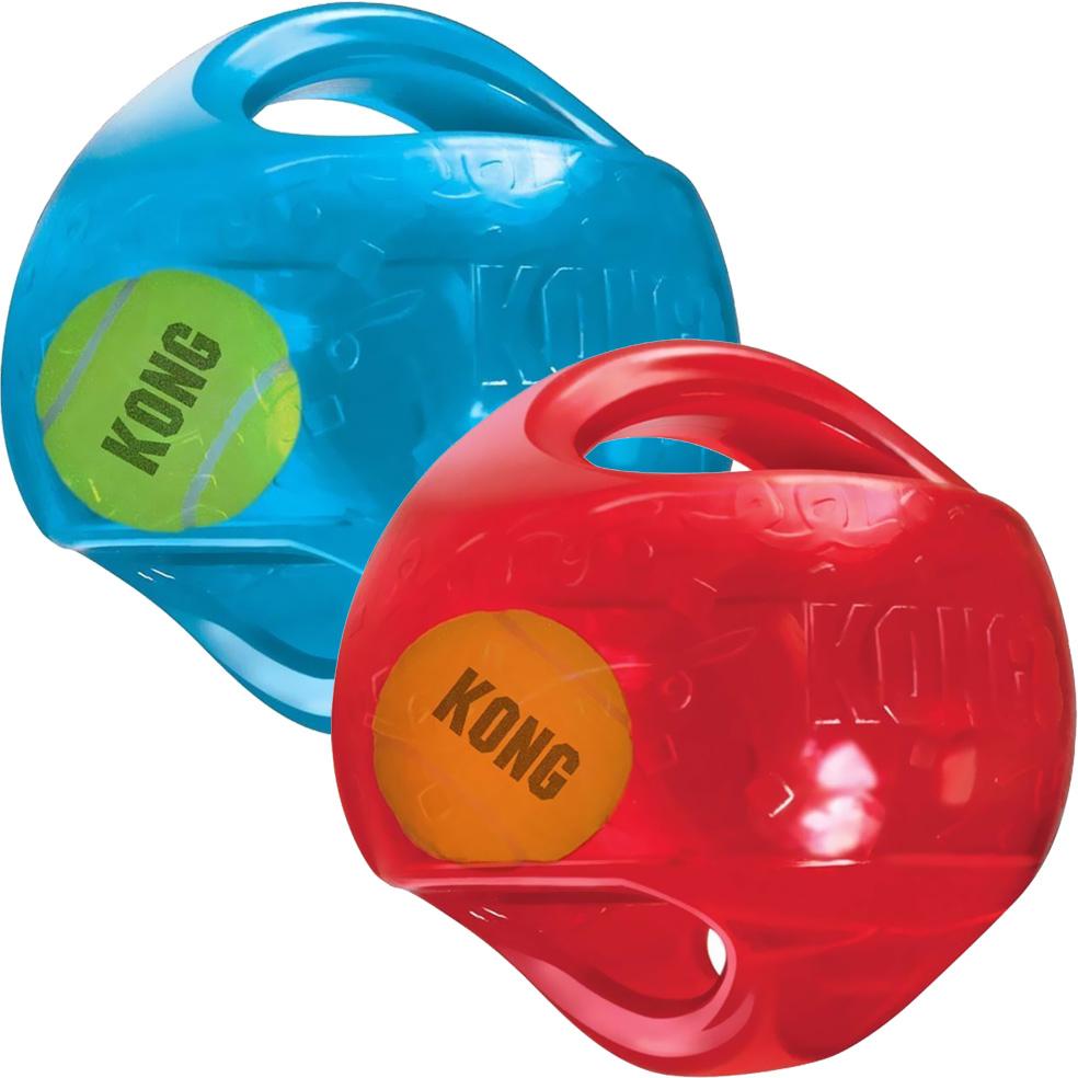 Игрушка для собак KONG Jumbler Мячик синтетическая резина 18 см В ассортименте