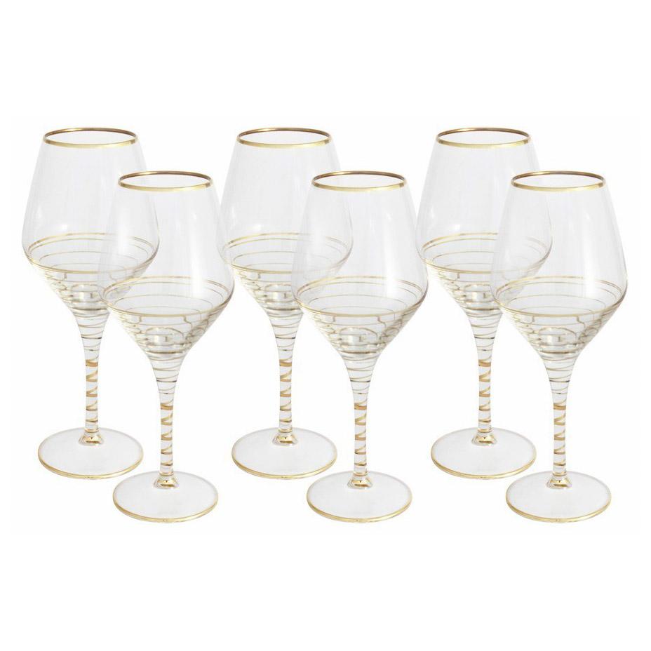Набор бокалов Same Бар Спираль для вина 0,45 л