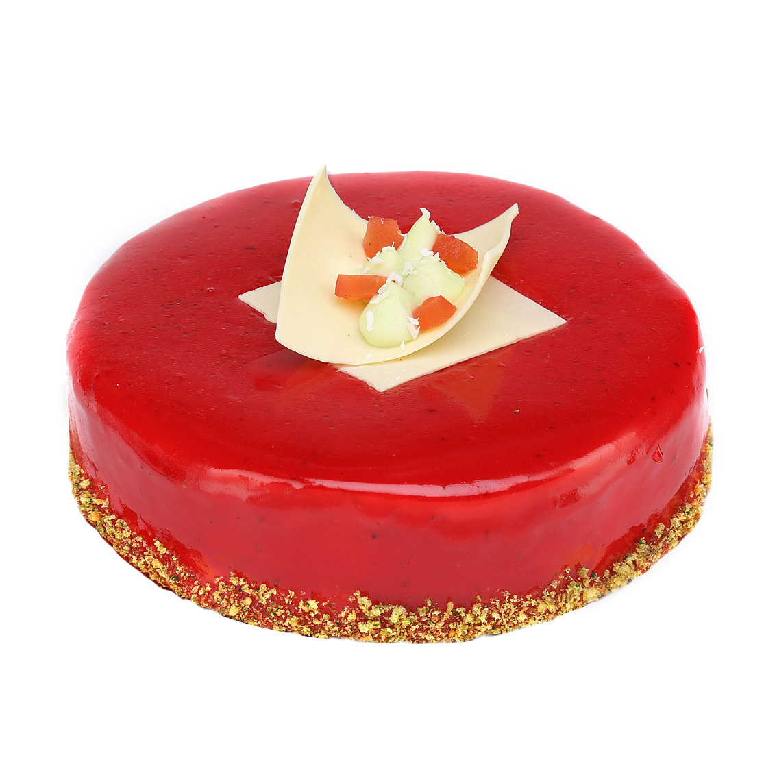 Торт Мастерская десертов Бисквит Клубничный Изумруд 680 г фото