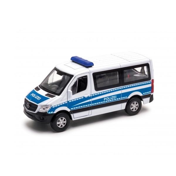 Модель Welly Mercedes-Benz Sprinter Полиция 1:50.