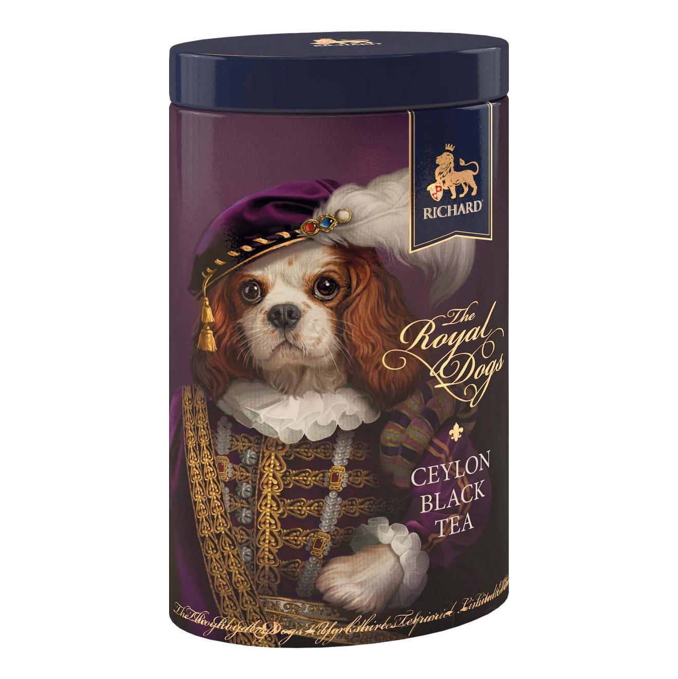Чай черный Richard The Royal Dogs 80 г недорого