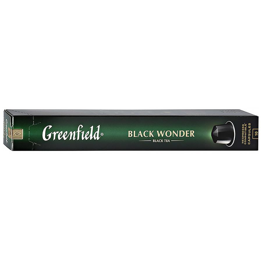 Чай в капсулах Greenfield Black Wonder 10 шт чай в капсулах greenfield raspberry cream 10 капс