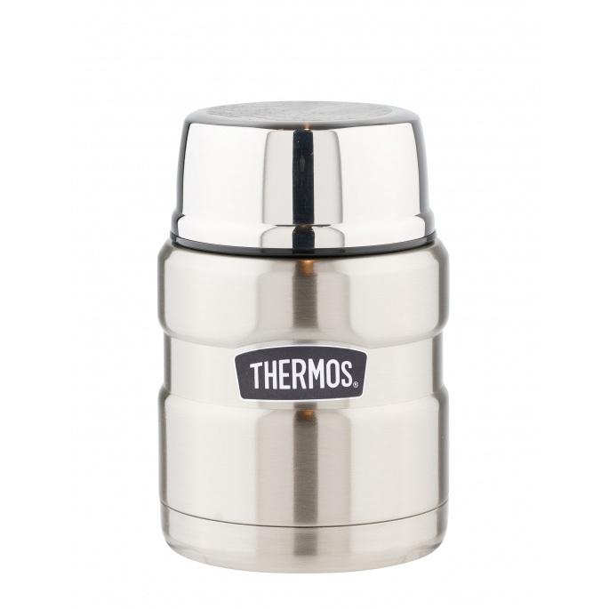 Купить Термос с ложкой Thermos sk3000-sbk 0, 47л, Китай, сталь нержавеющая