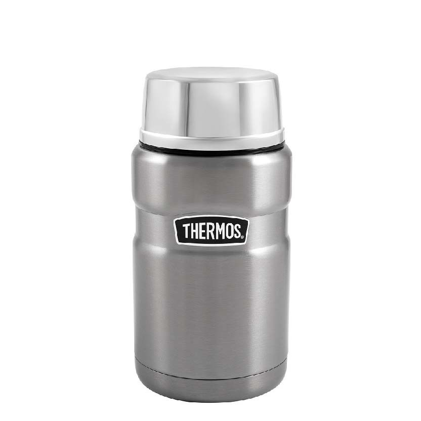 Купить Термос с ложкой Thermos sk3020st 0, 7л, Китай, сталь нержавеющая