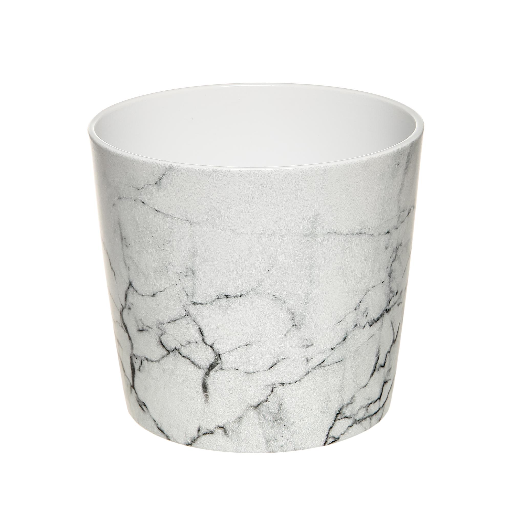 Кашпо Scheurich 870 cool marble 18 см фото