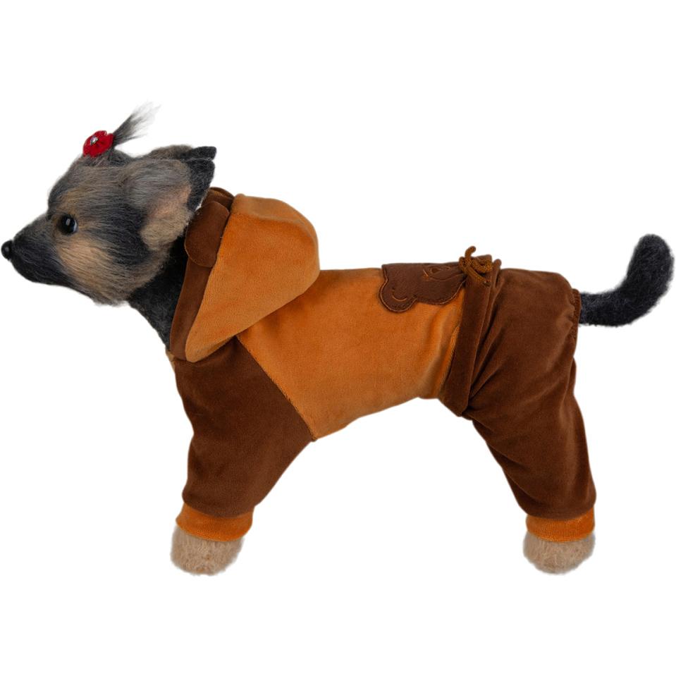 Комбинезон для собак DOGMODA Мишка велюр 2 в ассортименте.