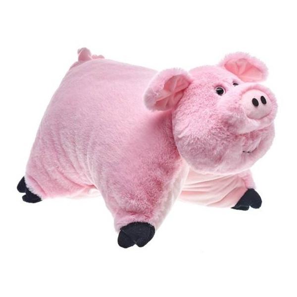 Подушка розовая Ваш подарок Хавронья фото