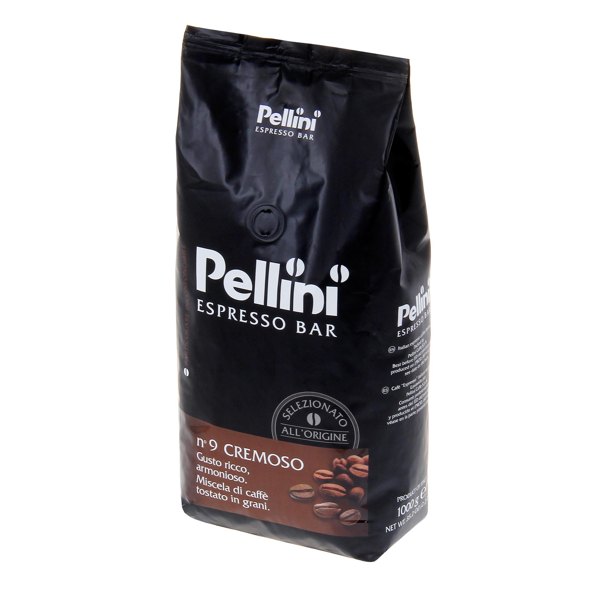 Кофе в зернах Pellini Espresso Bar Cremoso 1 кг кофе в зернах kimbo espresso bar prestige 1000