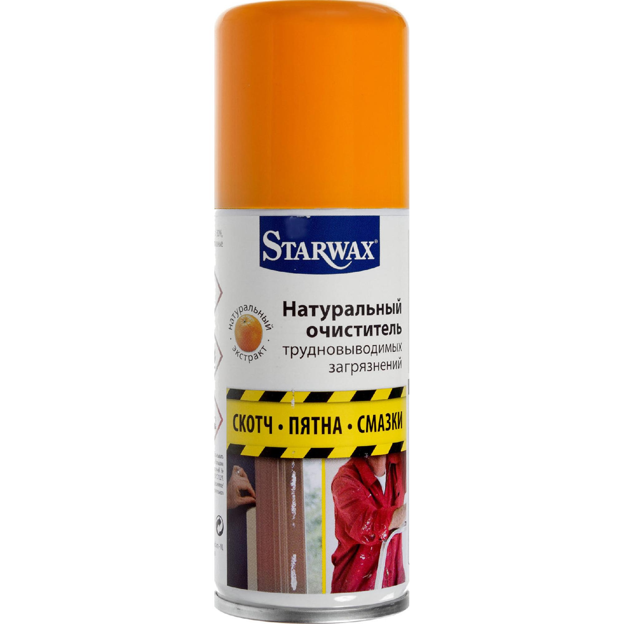 Очиститель натуральный Starwax Для трудно выводимых загрязнений 100 мл