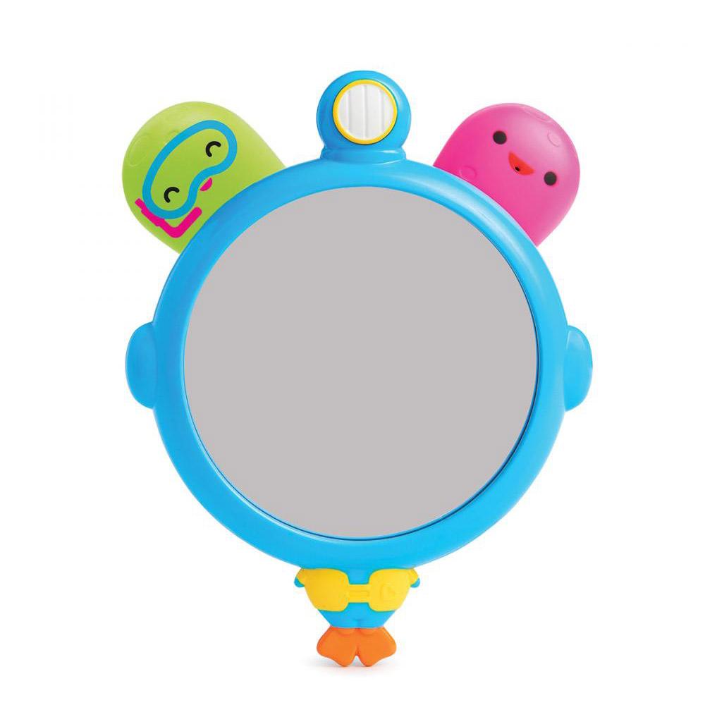 Игрушка для ванной Munchkin зеркало и брызгалки осьминожки с 3-х лет фото