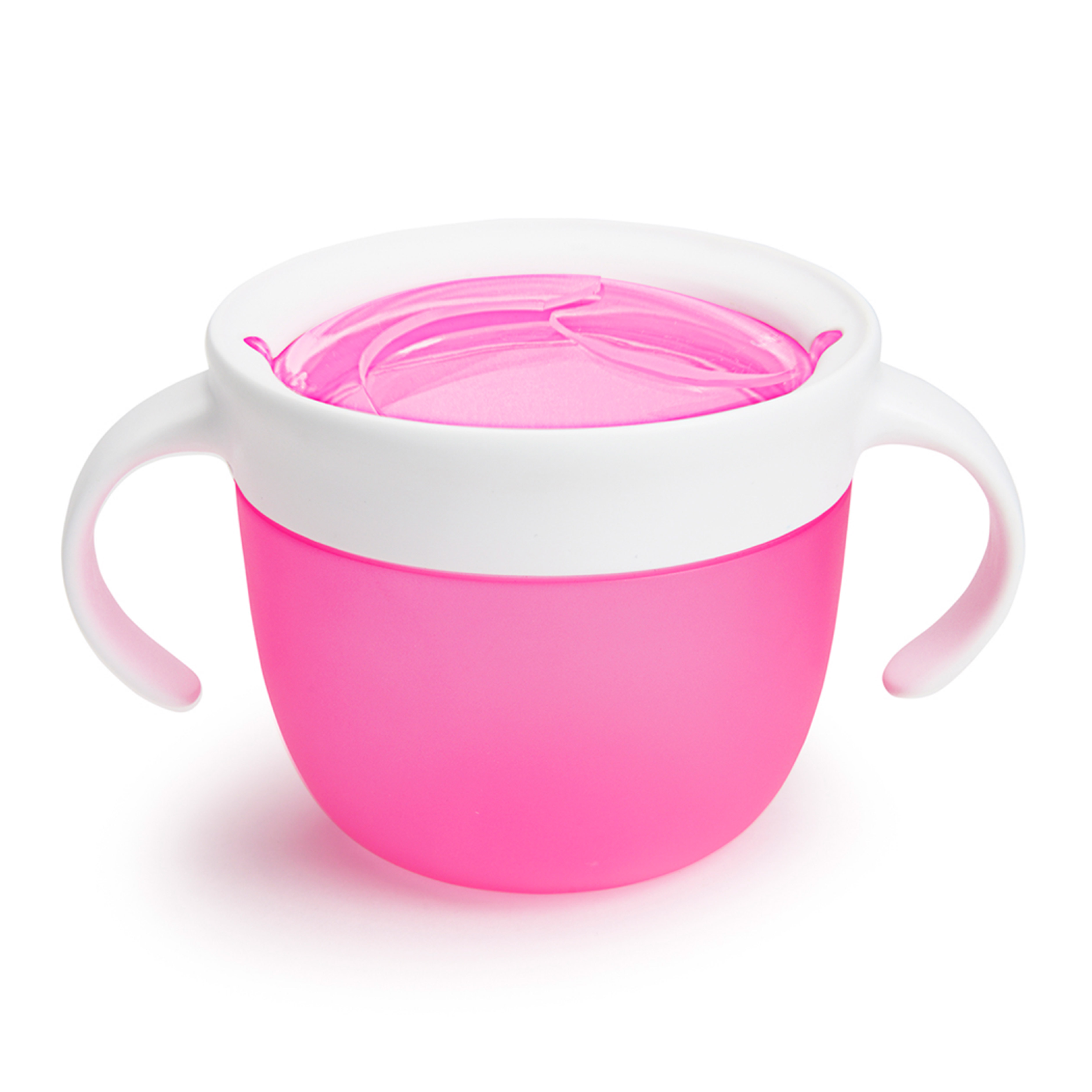 Контейнер Munchkin Поймай печенье розовый 12м+ контейнер munchkin поймай печенье голубой 12м