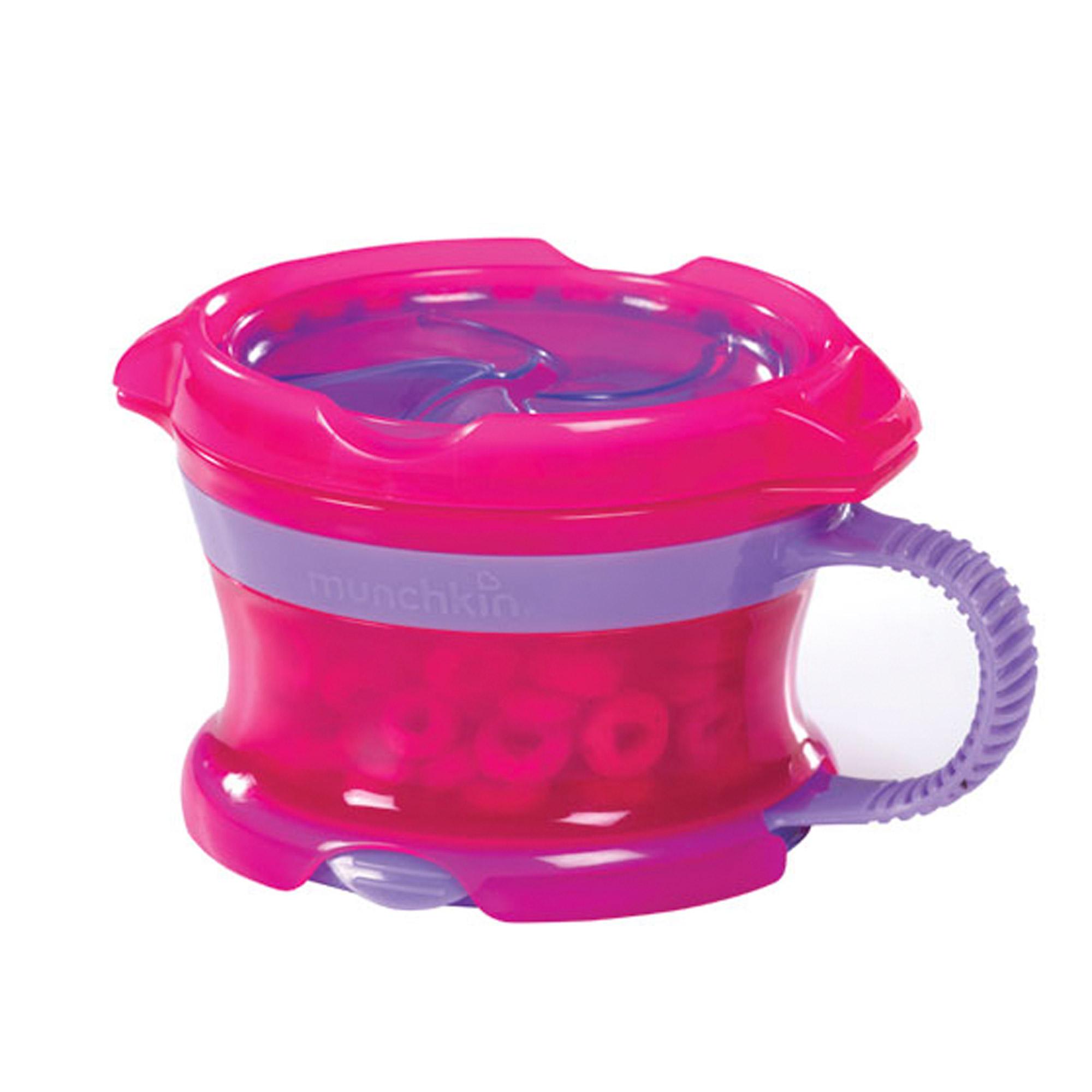 Контейнер Munchkin Поймай печенье Deluxe розовый 12м+ контейнер munchkin поймай печенье голубой 12м