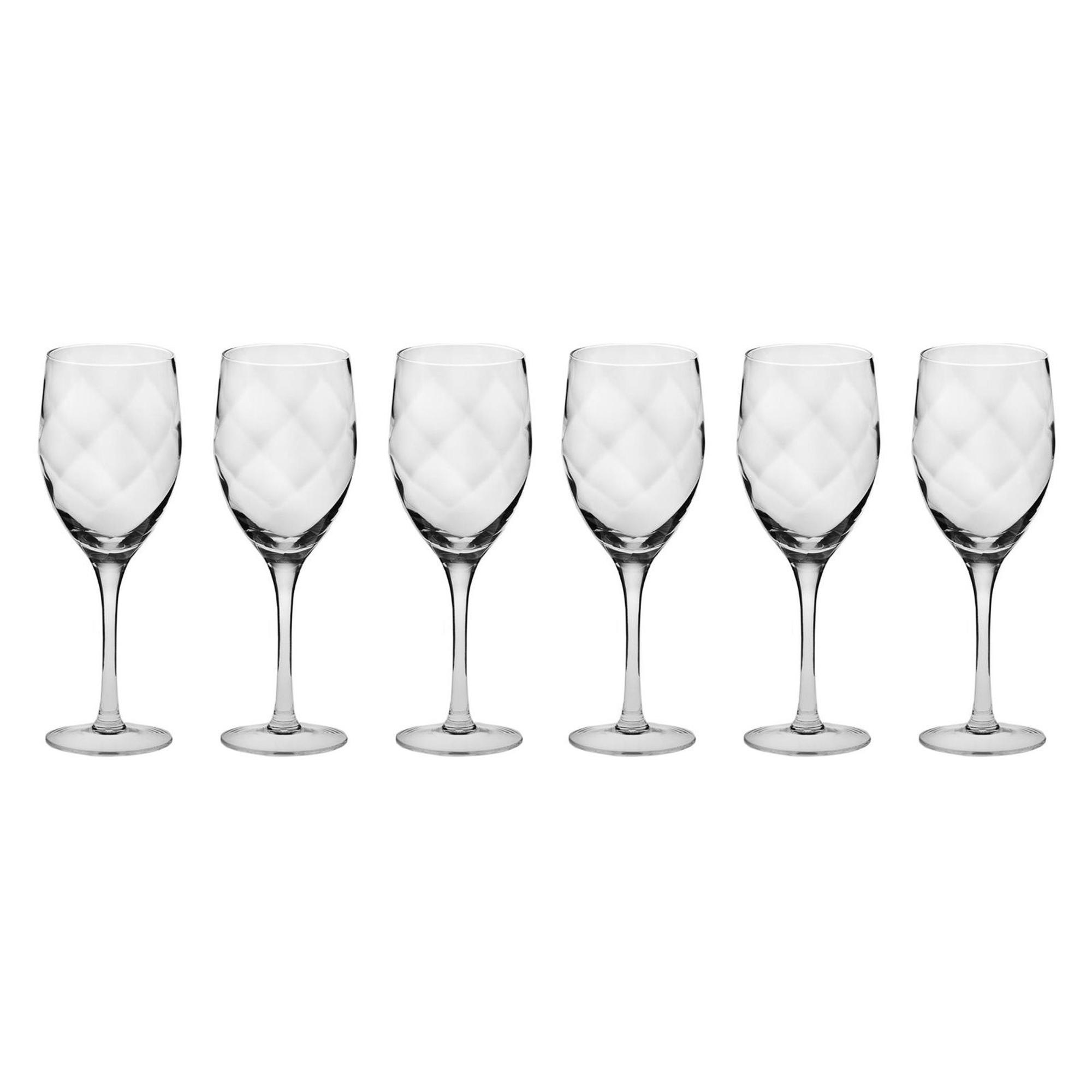 Набор из 6 бокалов для белого вина 270мл Krosno романтика фото
