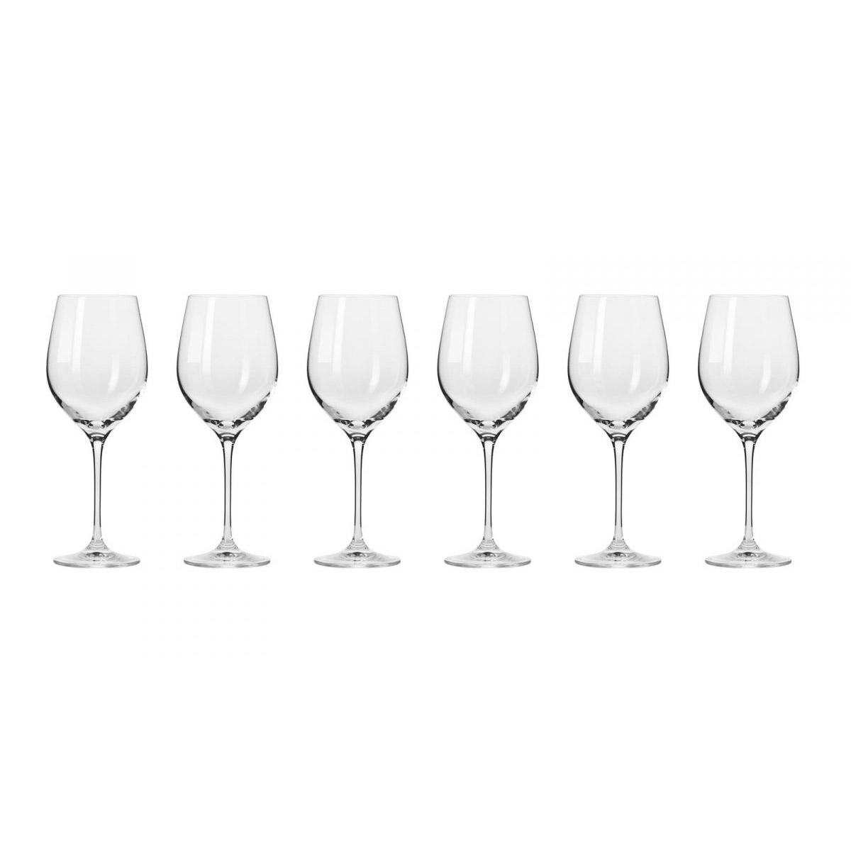 Набор бокалов Krosno Гармония для красного вина 0,37 л фото