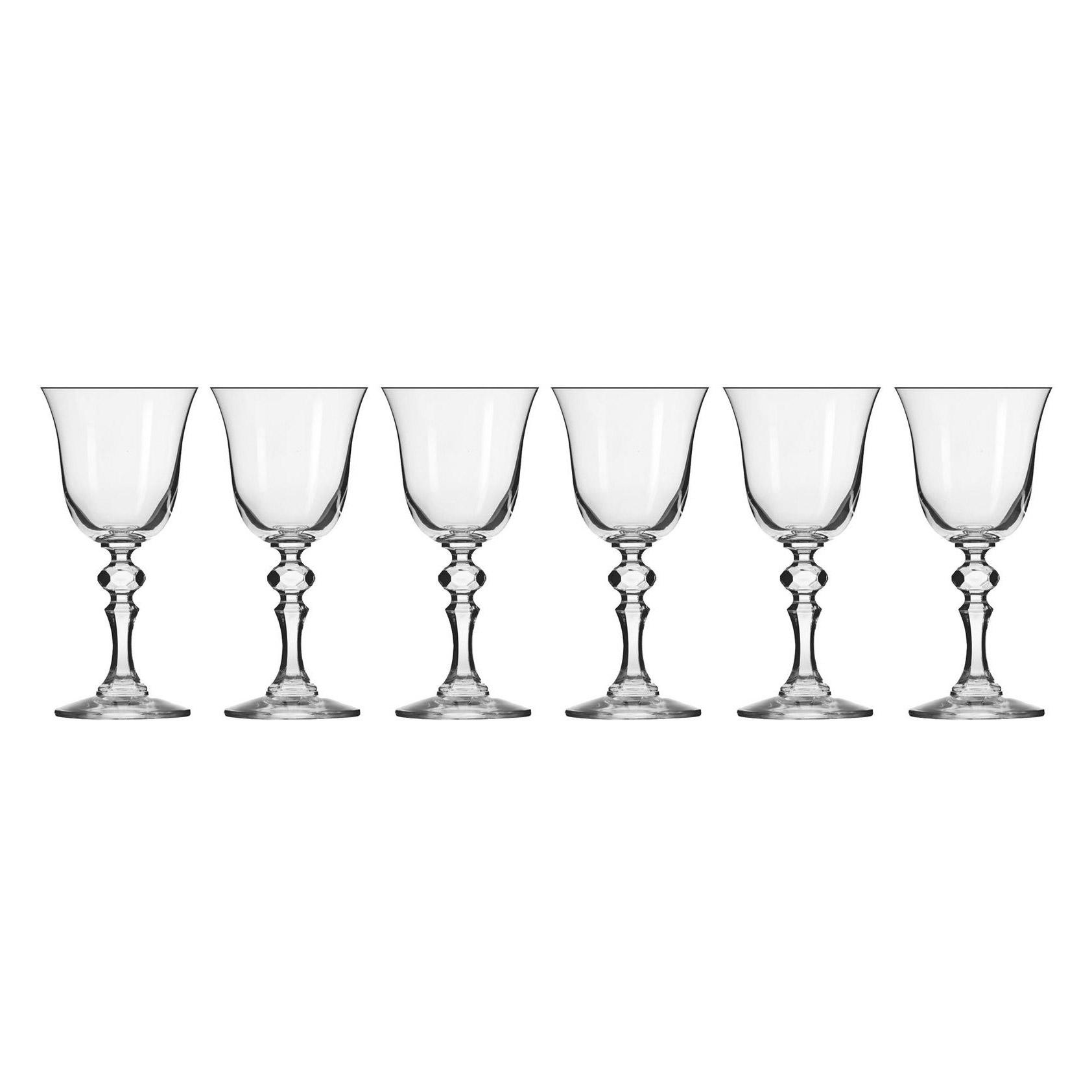 Набор бокалов Krosno Криста для белого вина 0,15 л фото