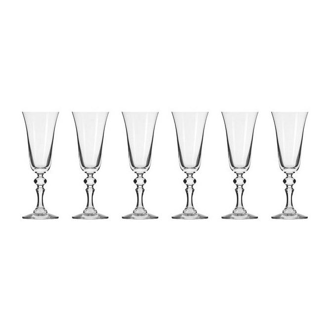 Набор фужеров Krosno Криста для шампанского 0,15 л фото