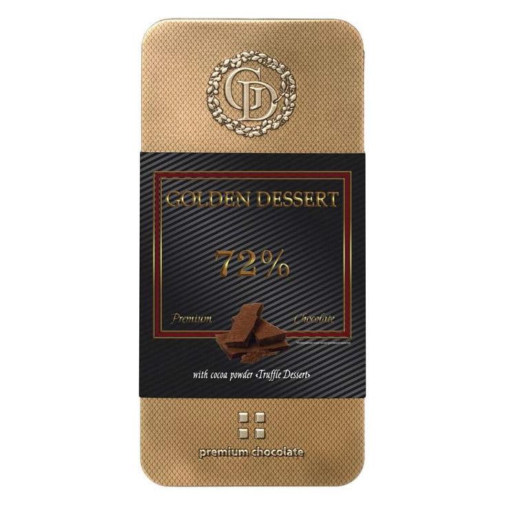 Шоколад Golden Dessert 72% горький 100 г