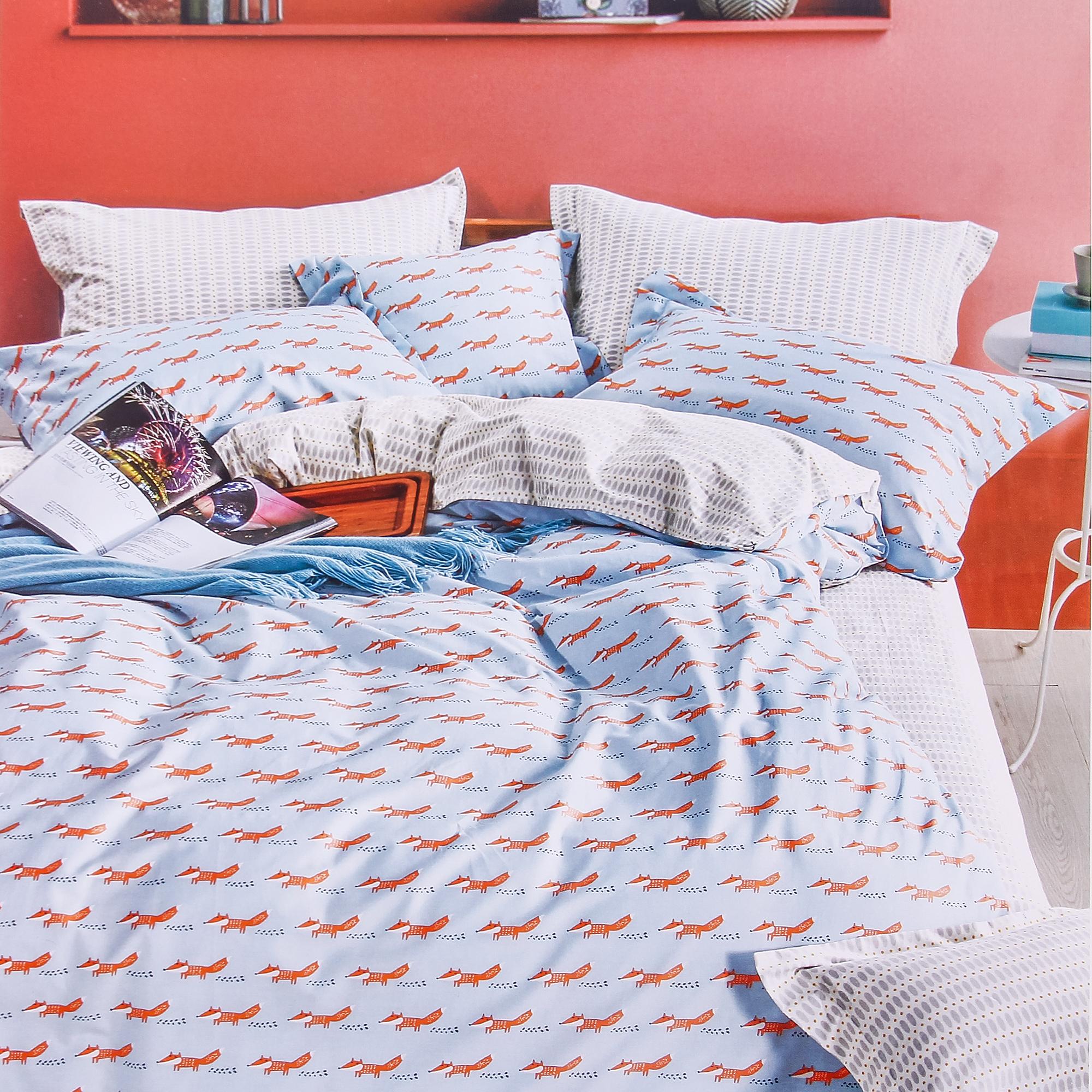 Постельный комплект Sofi De Marko Fox 1.5 спальный 160х220 см фото