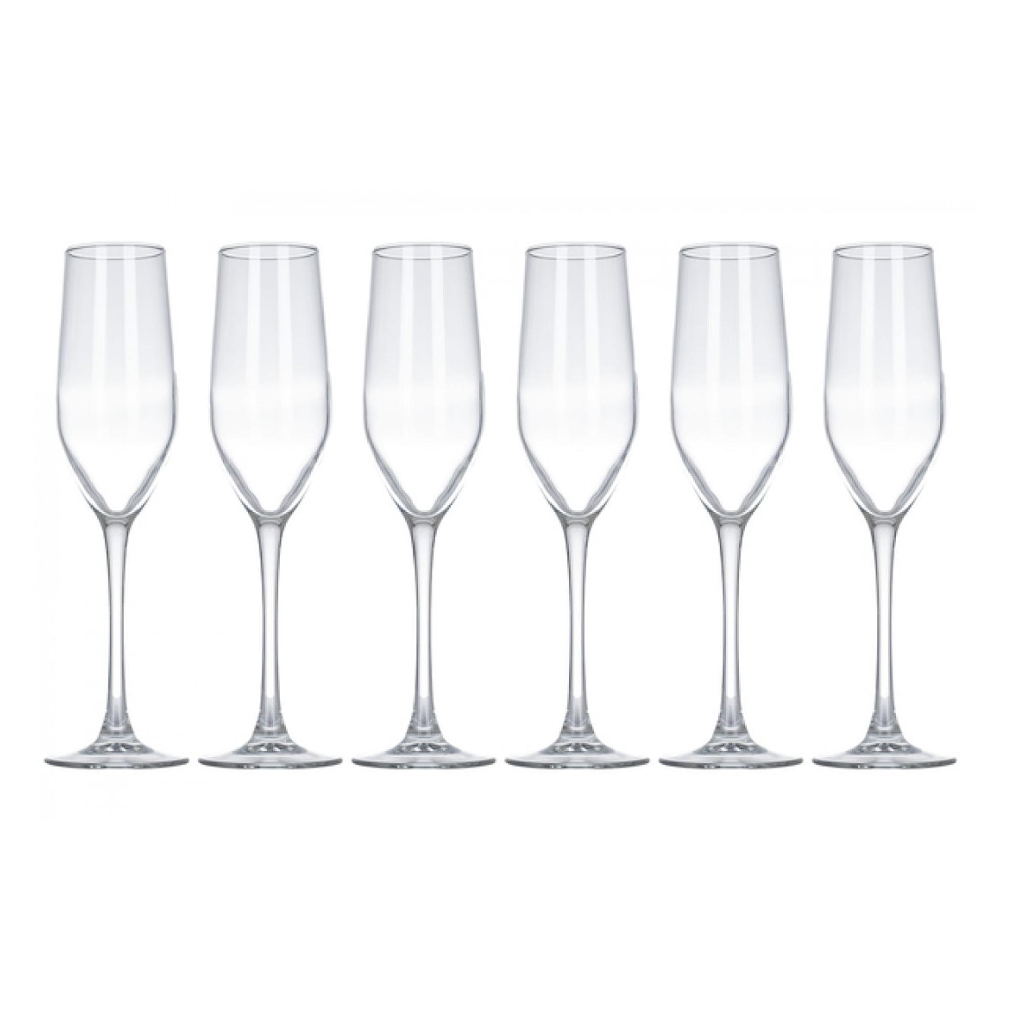 Фото - Набор бокалов для шампанского Luminarc селест 160мл 6шт набор бокалов для вина luminarc версаль 6шт 275мл g1509