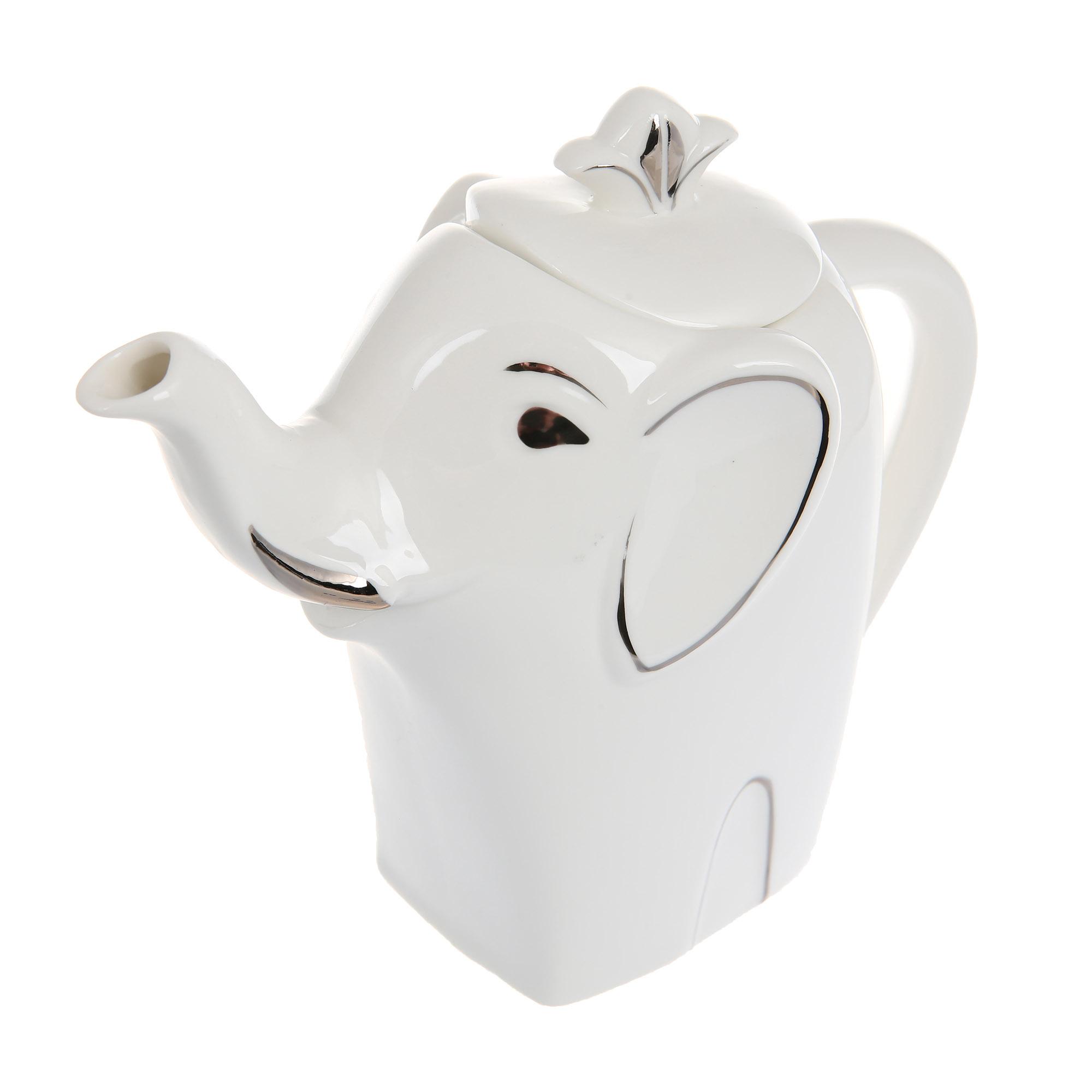 Чай черный подарочный Hilltop Чайник Слон серебро 80 г чай hilltop коллекция 50г черный слон керамика