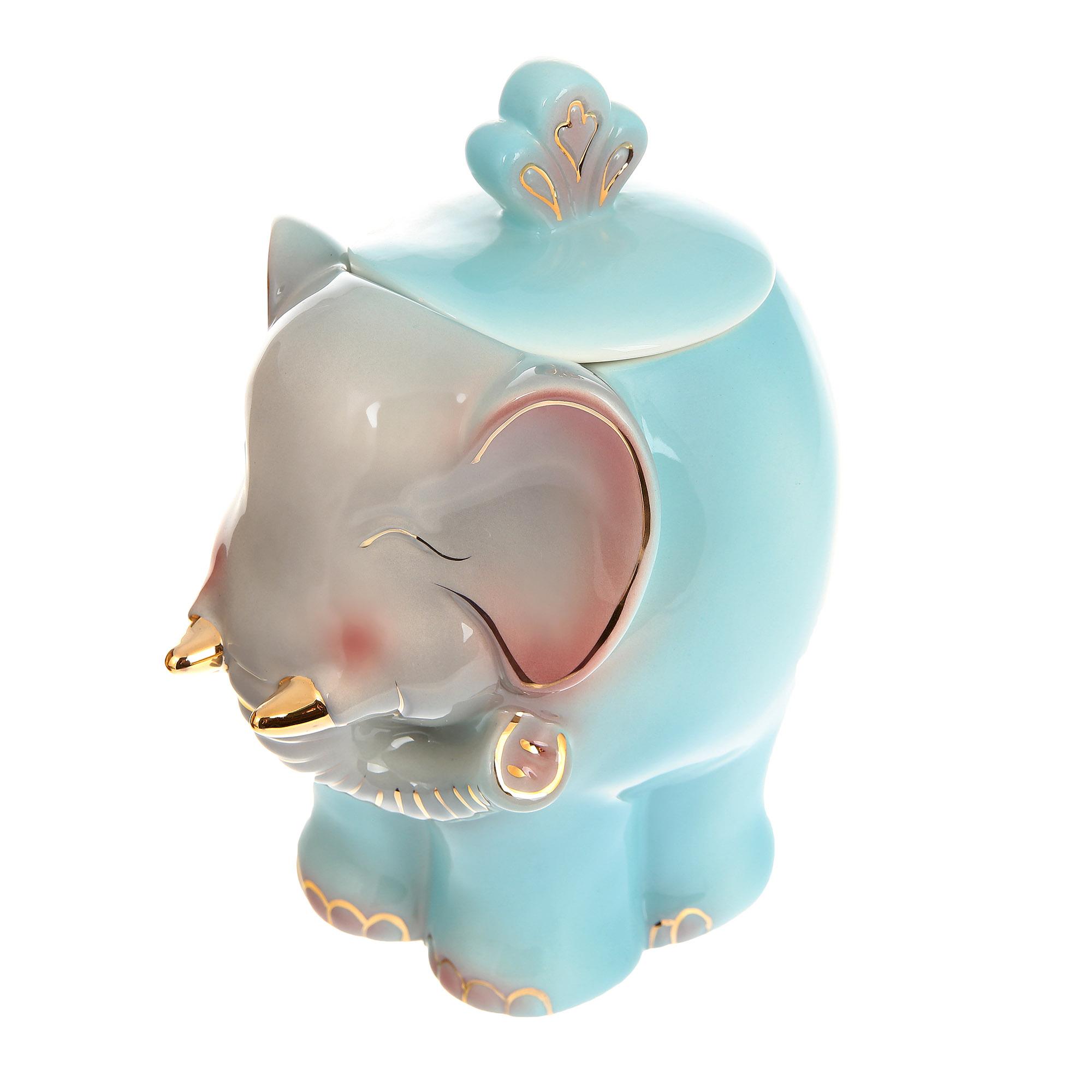 Чай черный подарочный Hilltop керамическая чайница Слон 100 г чай hilltop коллекция 50г черный слон керамика