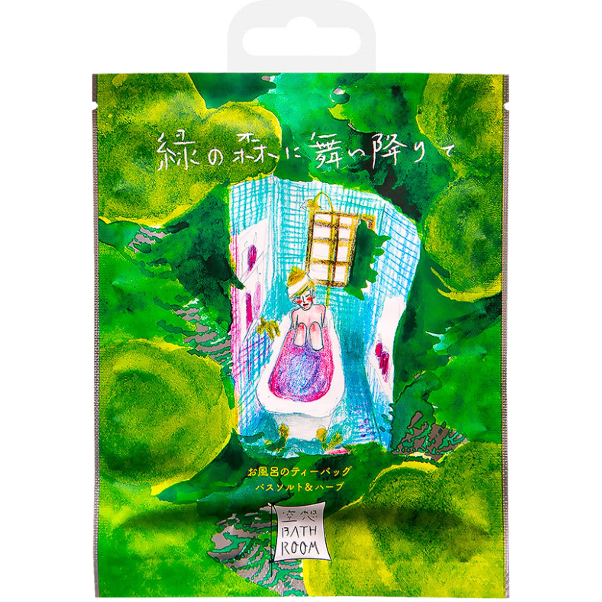Соль-саше для ванн Charley Bathroom В зеленом лесу с ароматом лесных деревьев 30 г.