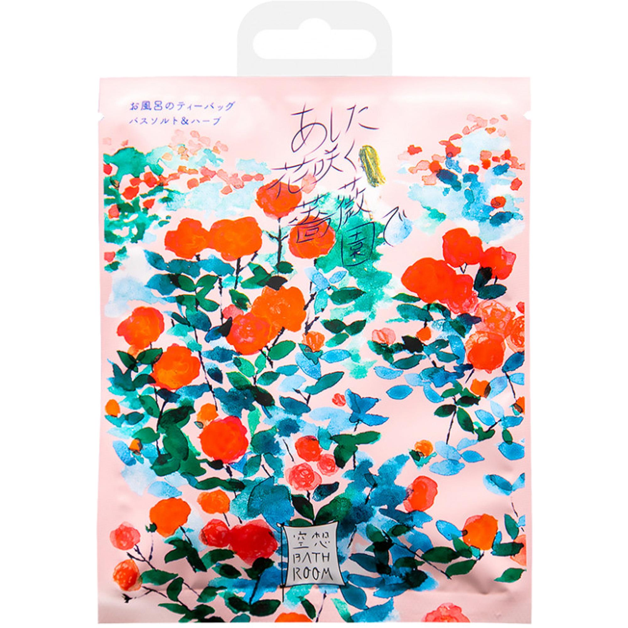 Соль-саше для ванн Charley Bathroom Сад цветущих роз с ароматом розы 30 г.