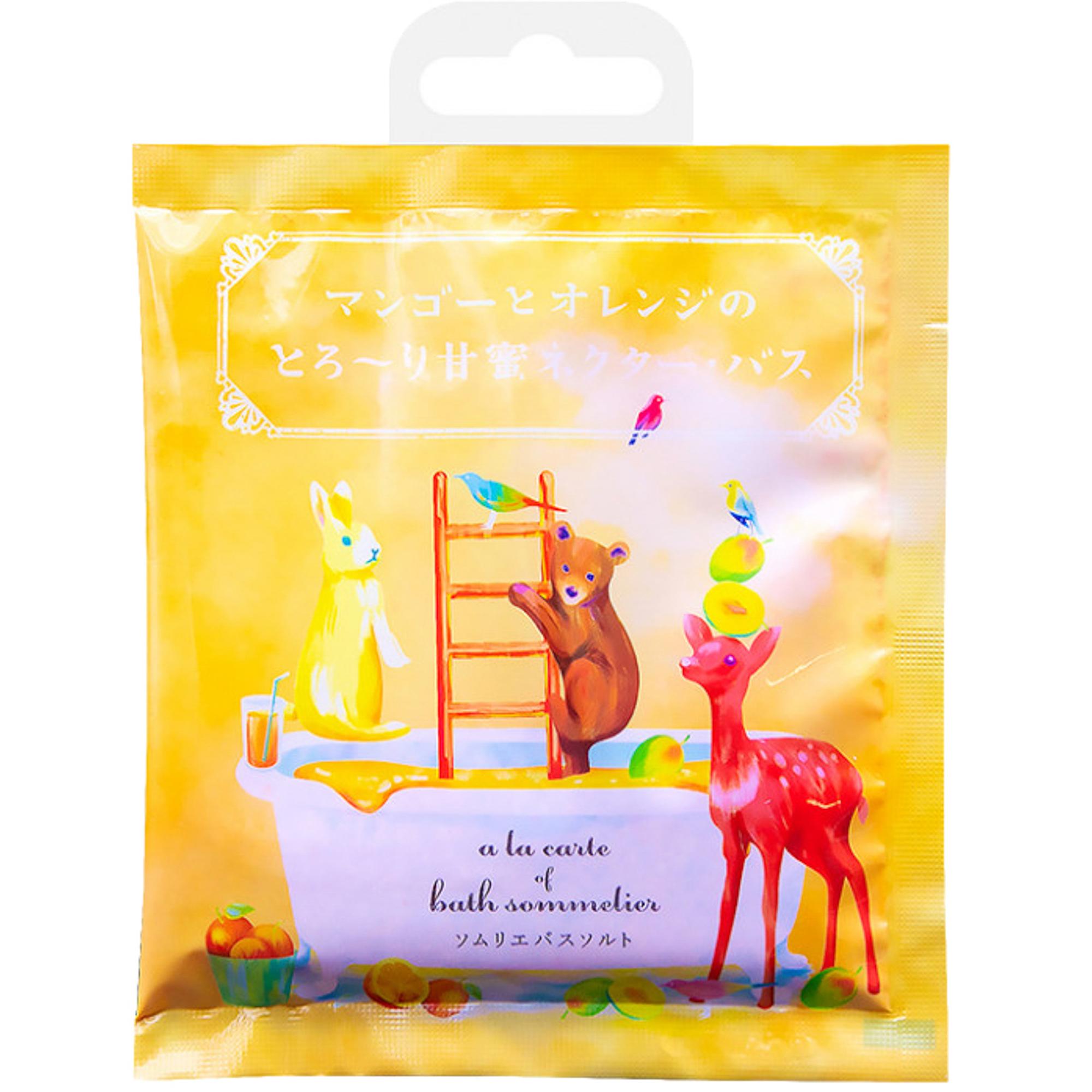 Соль для ванн Charley Sommelier Расслабляющая с экстрактом манго и апельсином 40 г.