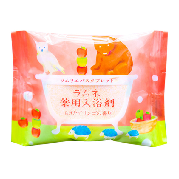 Соль-таблетка для ванн Charley Sommelier Расслабляющая с ароматом свежих яблок 40 г фото