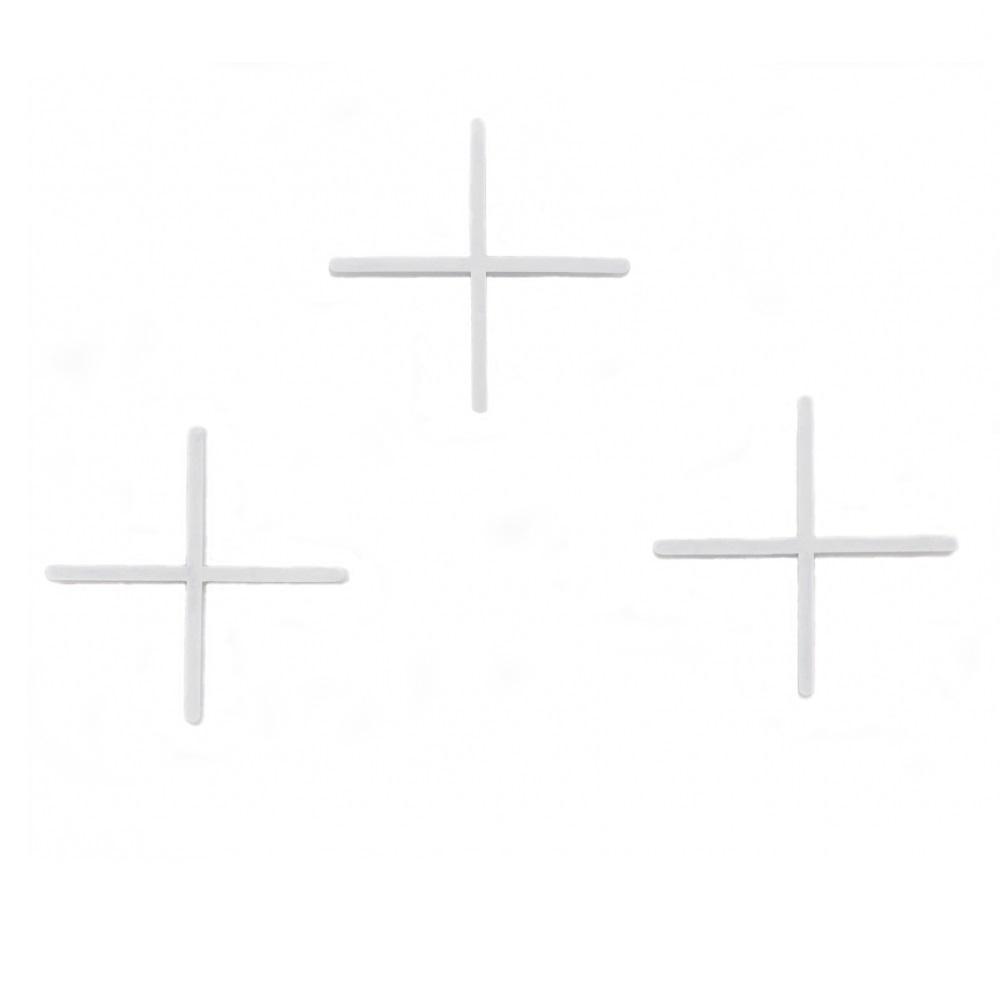 Крестики для плитки 3d крестики 1,5 мм (200шт)