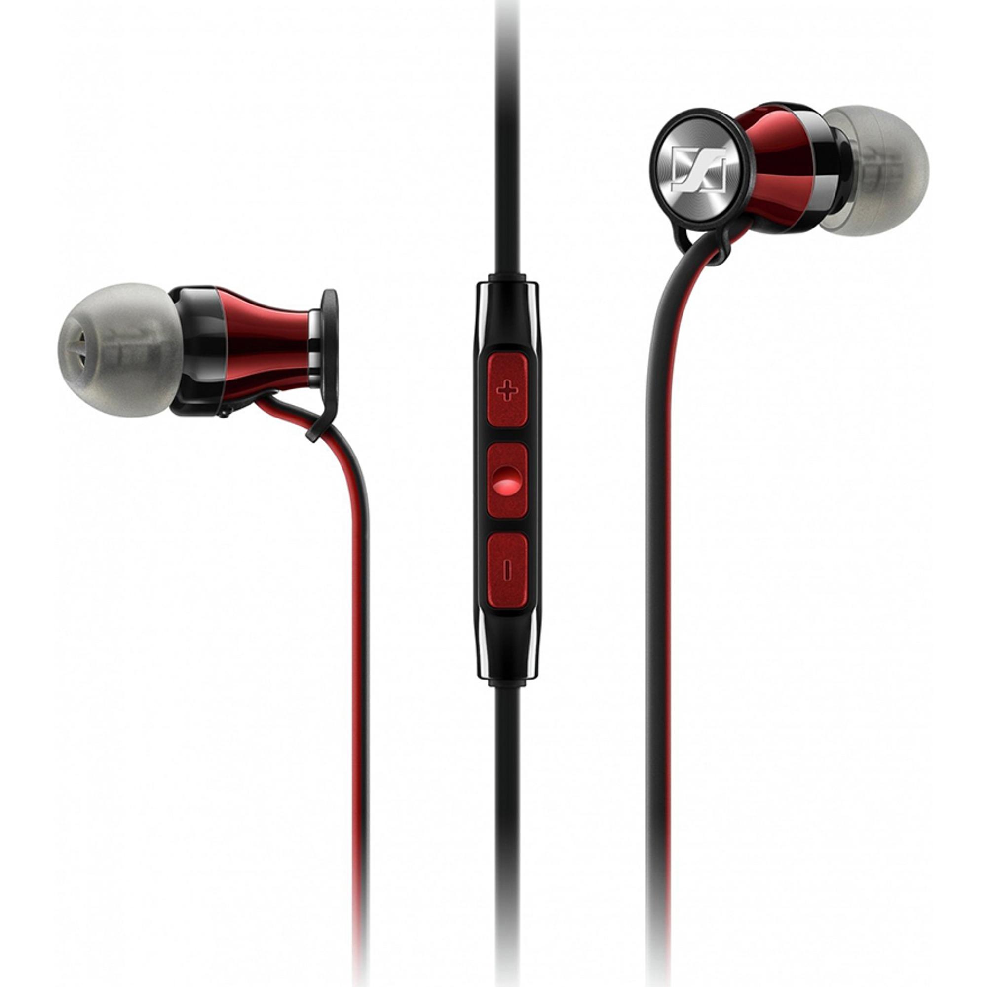Наушники Sennheiser Momentum In-Ear M2 IEI Red Black фото