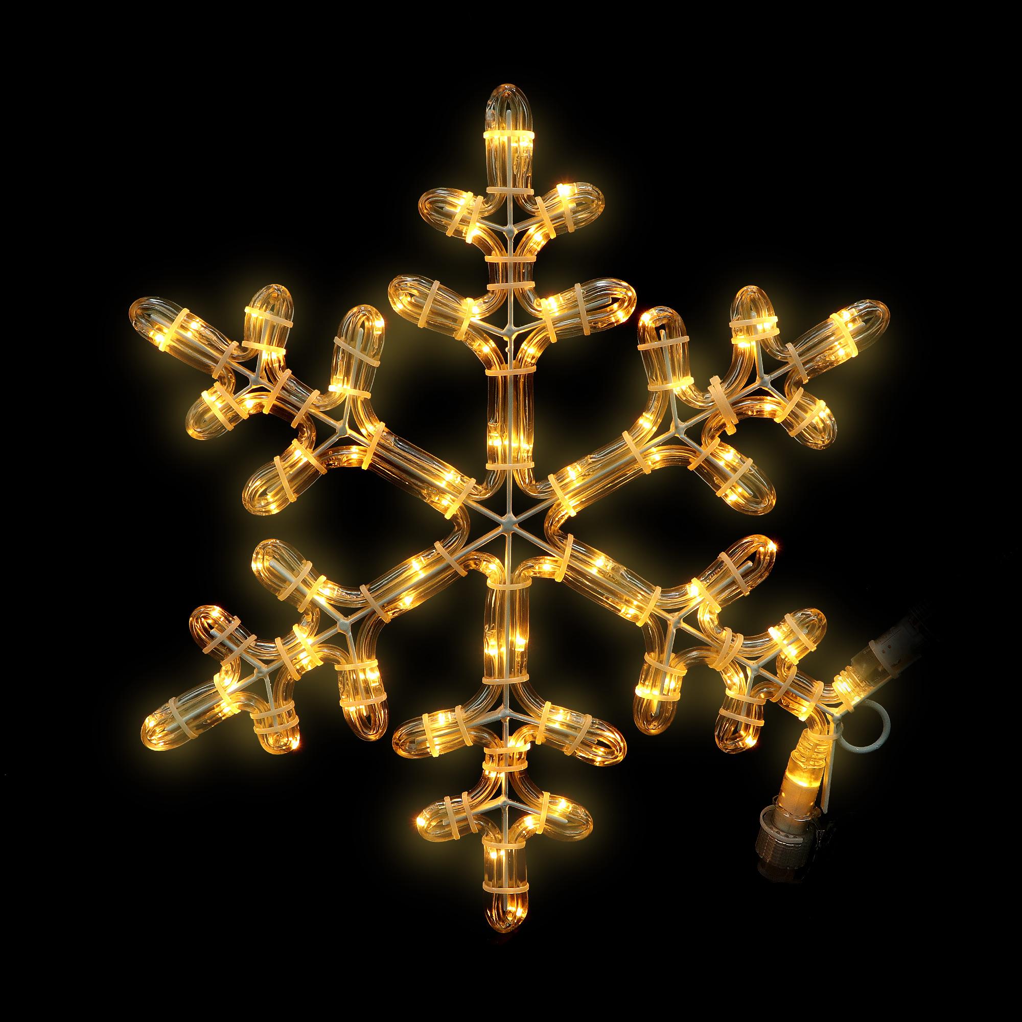Украшение уличное System expo/star trading snowflake 40см
