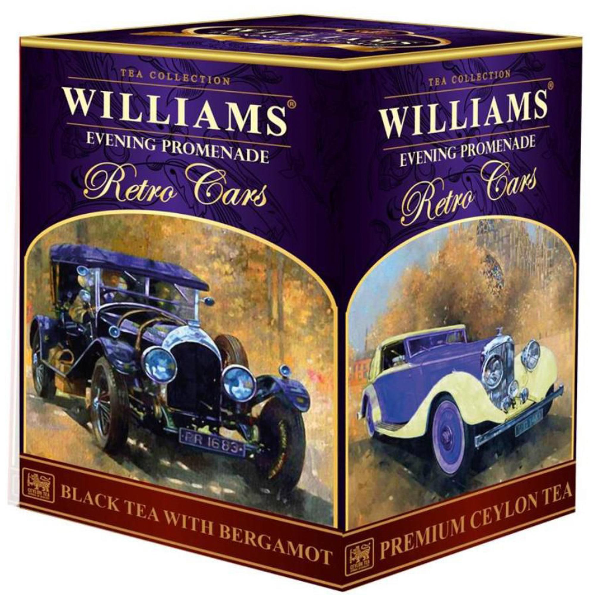 Чай черный Williams Evening Promenade листовой 150 г чай черный teekanne черная смородина гранат листовой 150 г