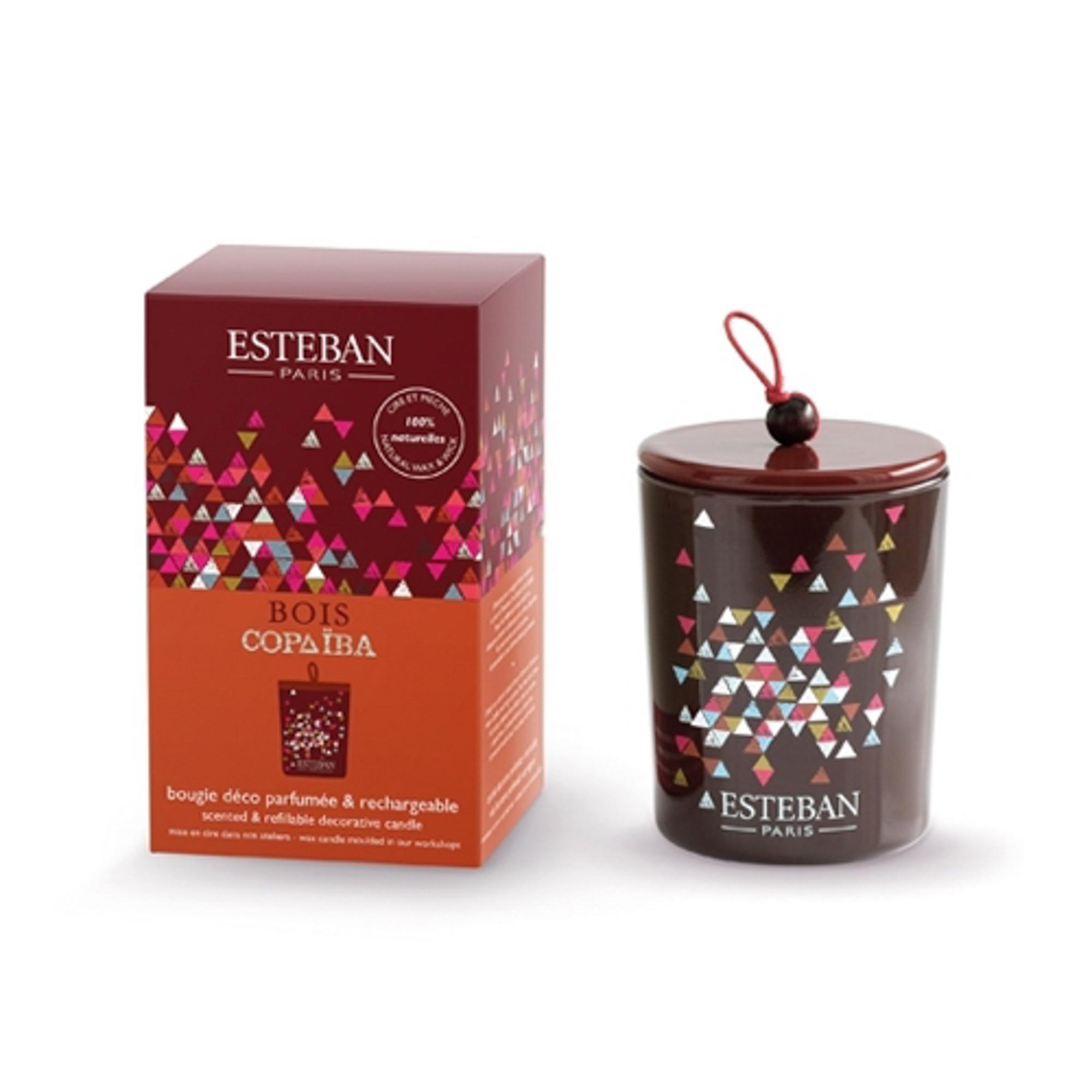 Ароматическая свеча Esteban Дерево копайба 170 г
