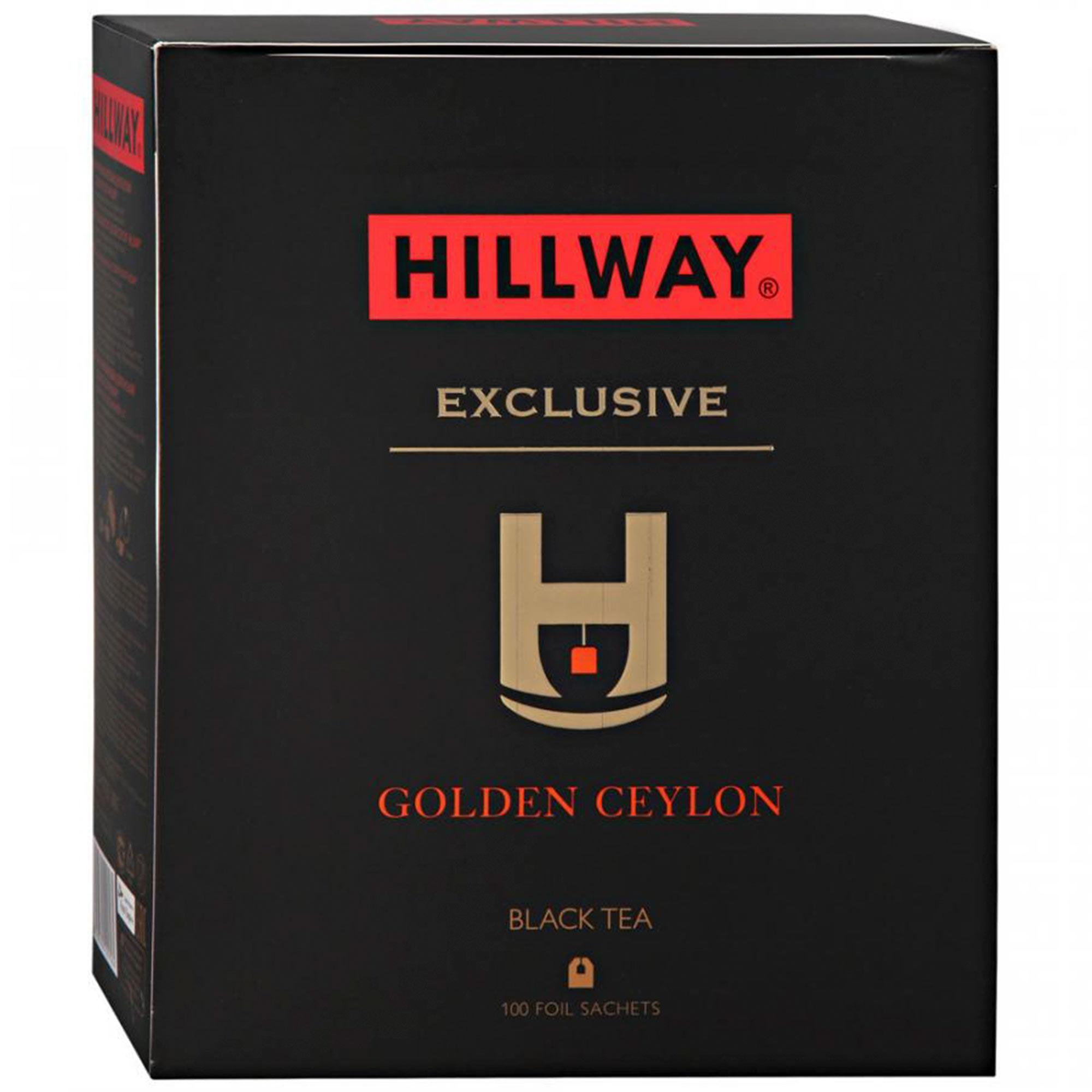 Фото - Чай черный Hillway Golden Ceylon 100х2 г чай черный matis золото цейлона 100х2 г