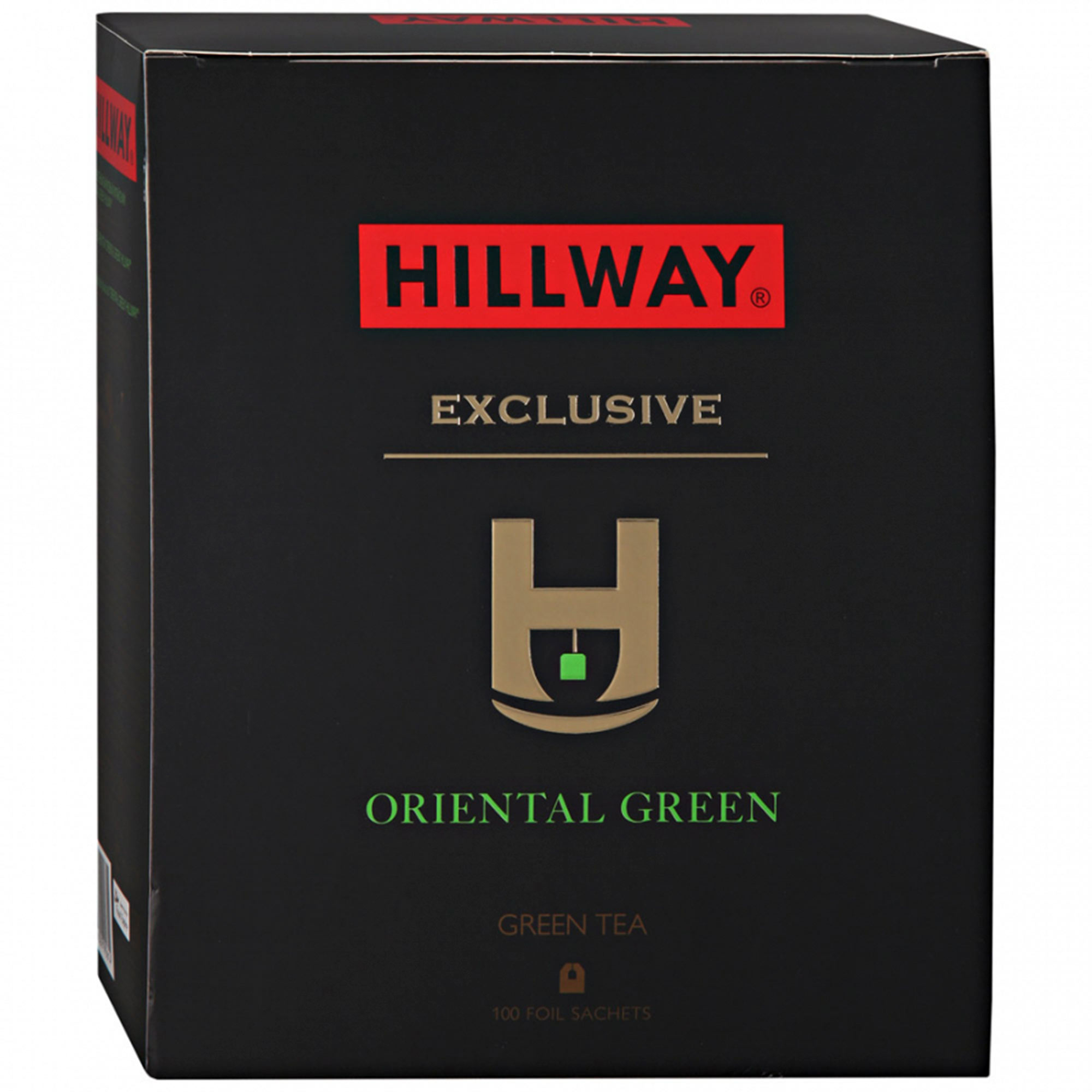 Чай зеленый Hillway Oriental Green 100 пакетиков