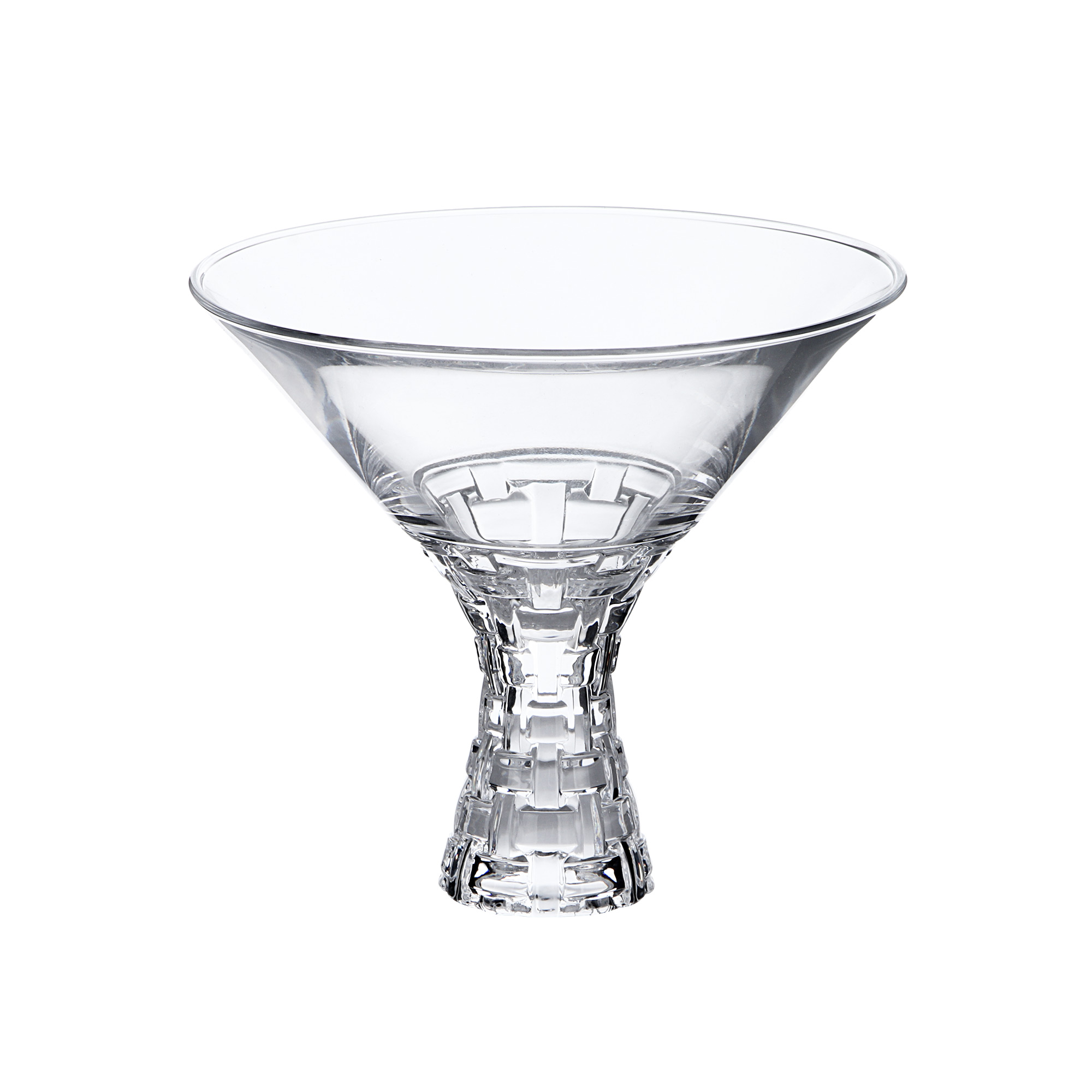 Набор бокалов для мартини Nachtmann Bossa Nova 340 мл 2 шт набор тарелок nachtmann bossa nova 32 см 2 шт
