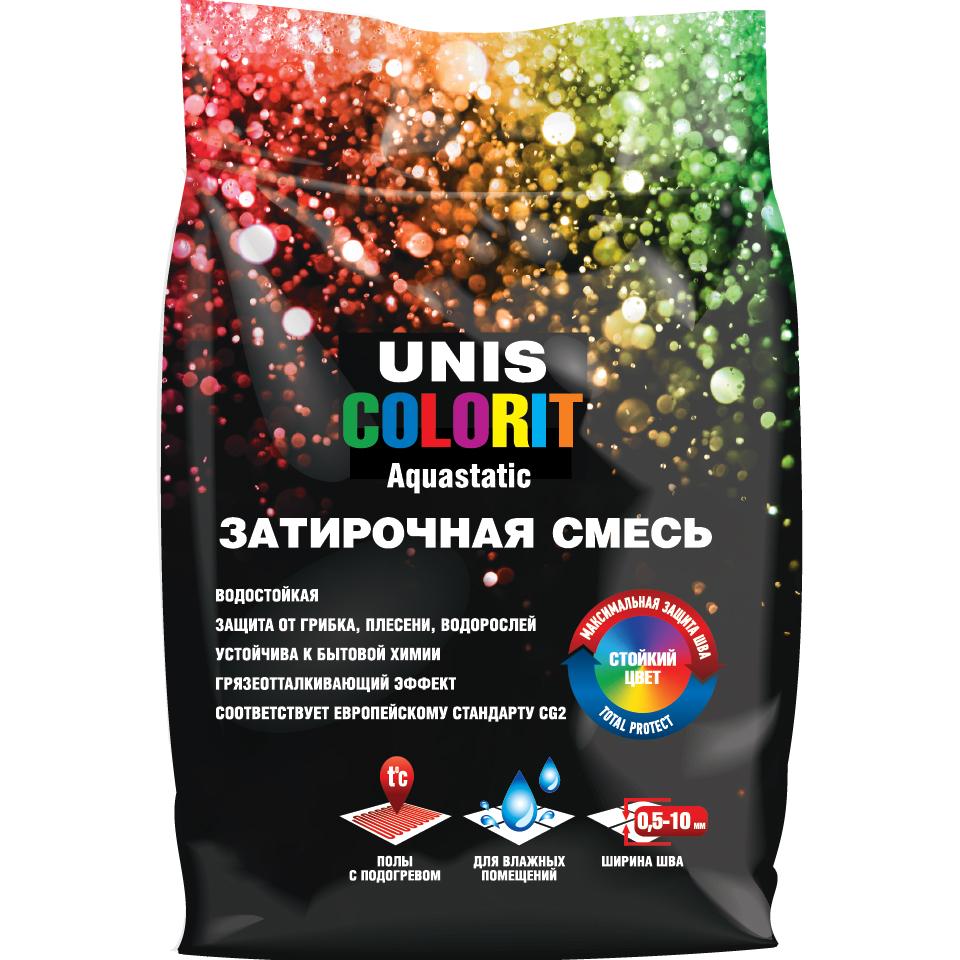 Затирка Unis Colorit Серый U 30 2 кг