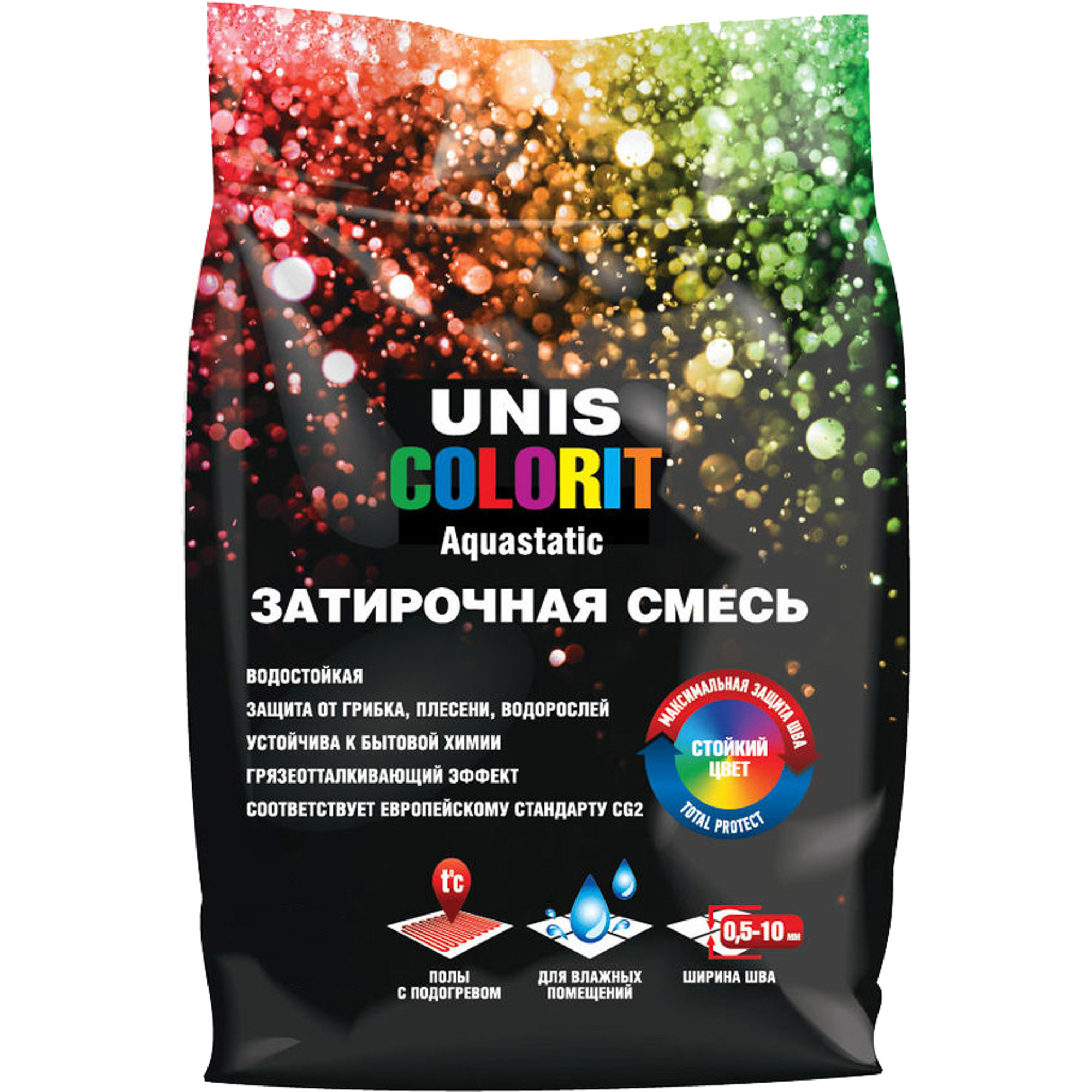 Затирка Unis Colorit терракота 2 кг