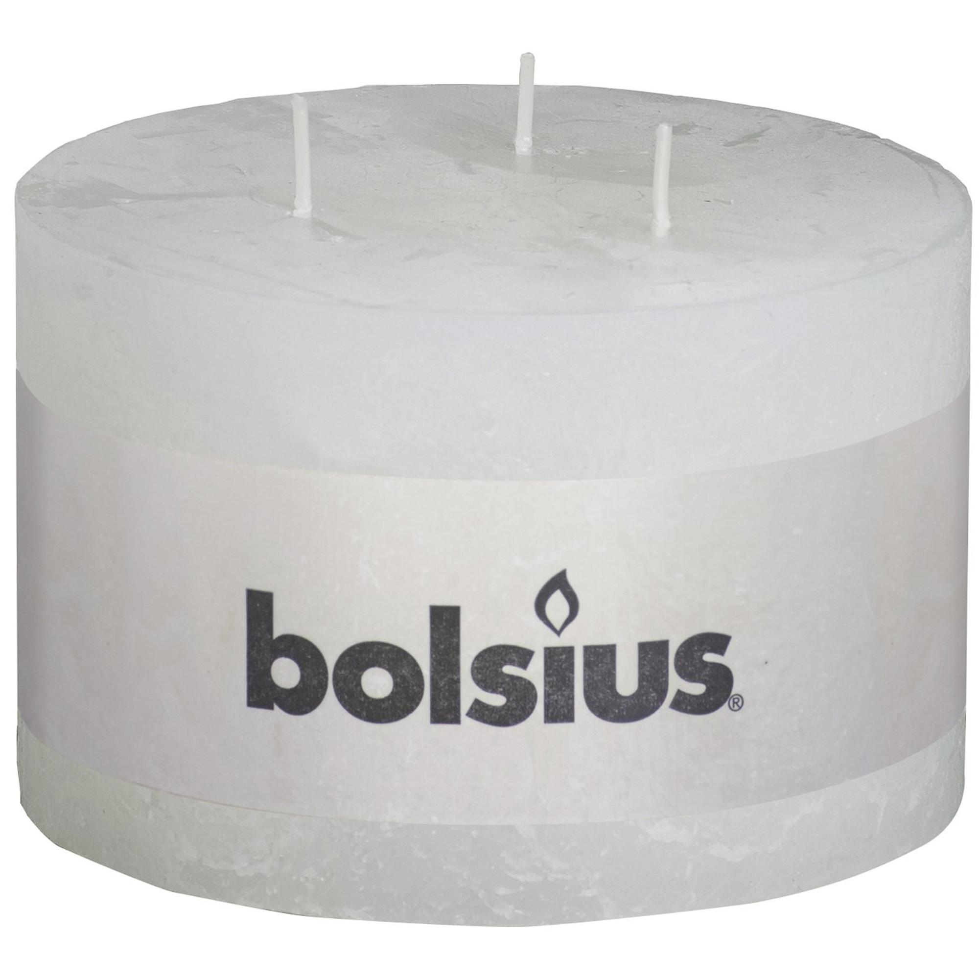 Фото - Свеча Bolsius rustic white 9х14 см свеча bolsius rustic metal gold 8х6 8 см