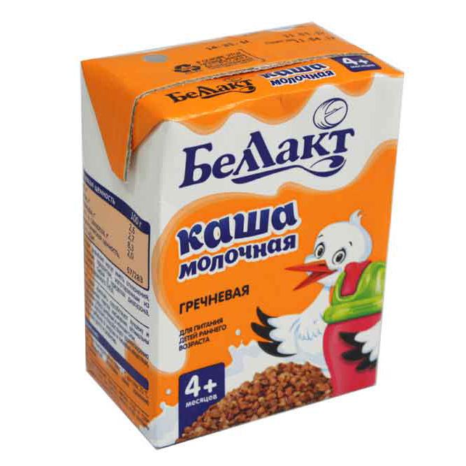 Фото - Каша готовая молочная Беллакт гречневая с 4-ех месяцев 207 г каша nutrilon молочная гречневая с 6 месяцев 200 г
